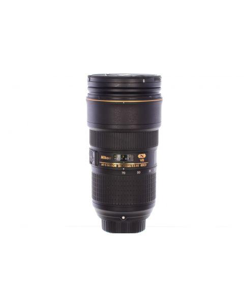 Nikon 24-70mm f2.8 AF-S E ED VR, superb! 6 month guarantee