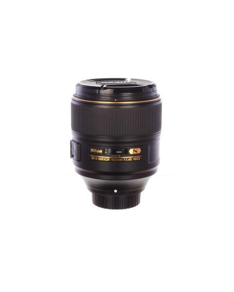 Nikon 105mm f1.4 AF-S E ED N, superb! 6 month guarantee