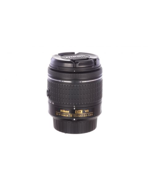 Nikon 18-55mm f3.5-5.6 AF-P DX VR, MINT, 6 month guarantee