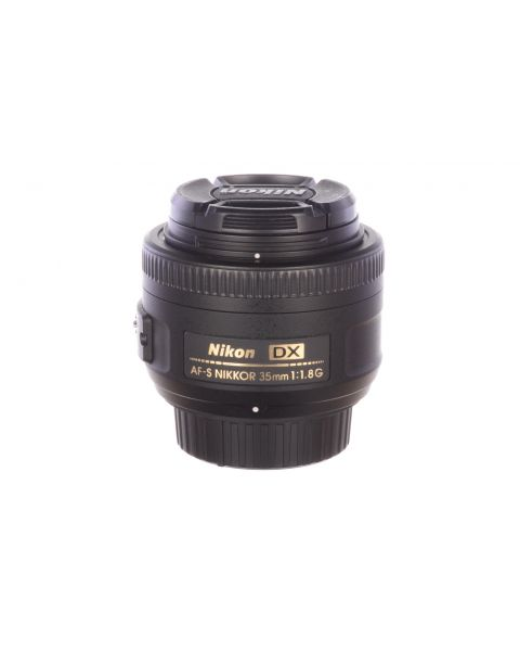 Nikon 35mm f1.8 AF-S DX G with HB46 hood, MINT, 6 month guarantee