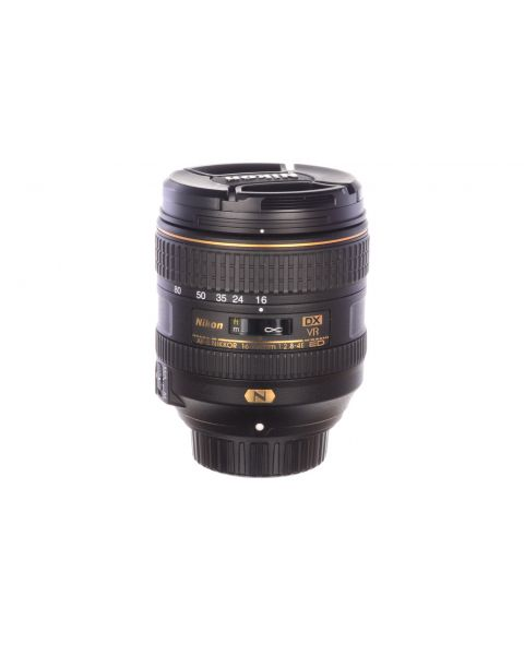 Nikon 16-80mm f2.8-4 E ED DX VR, with hood, MINT! 6 month guarantee