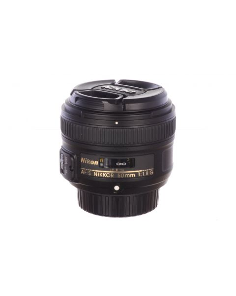 Nikon 50mm f1.8 AF-S G, with hood, MINT! 6 month guarantee