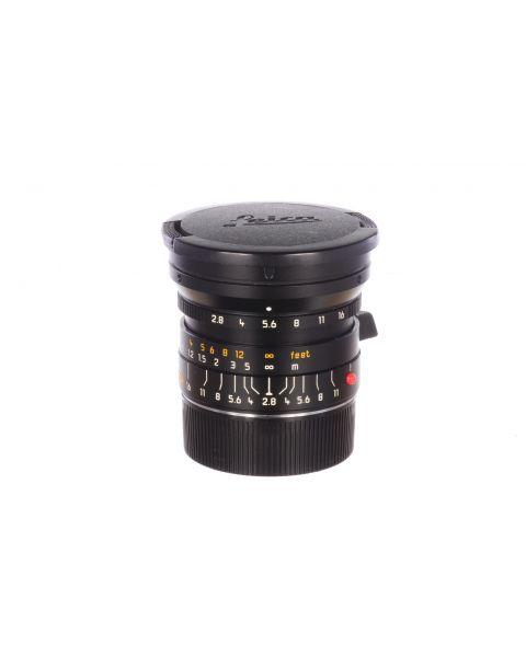 Leica 24mm f2.8 Elmarit M ASPH, almost mint, 6 month guarantee