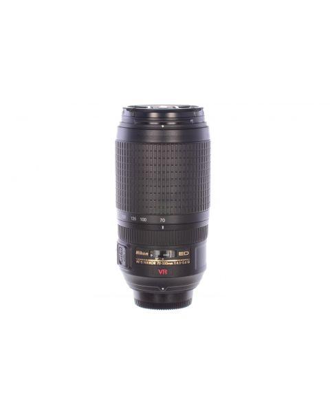 Nikon 70-300mm f4.5-5.6 AF-S Nikkor ED VR G, superb condition, 6 month guarantee