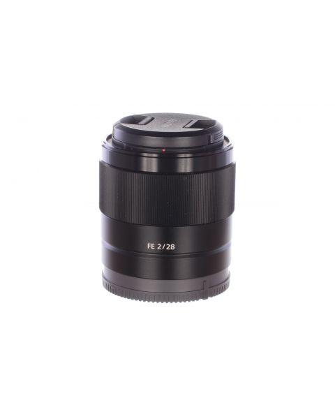 Sony FE 28mm f2 lens, MINT, 6 month guarantee