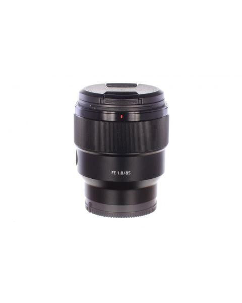Sony FE 85mm f1.8 lens, MINT, 6 month guarantee
