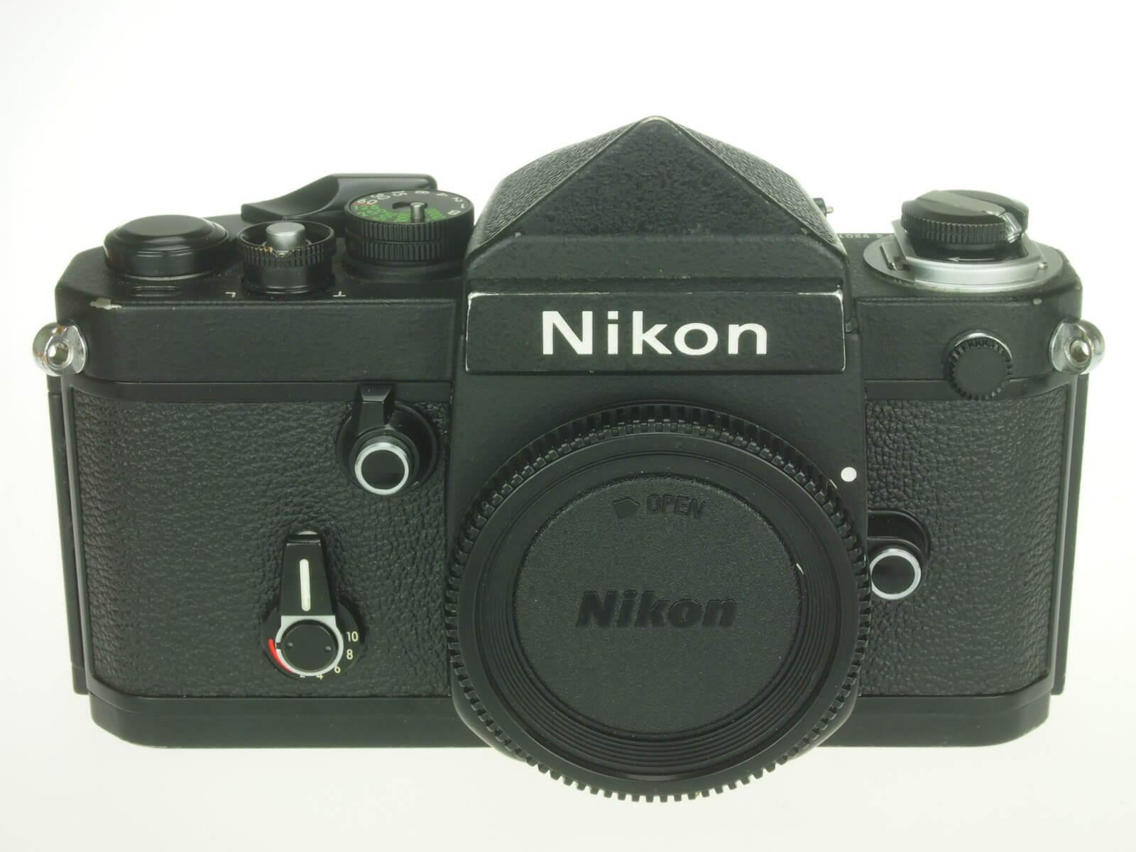 Nikon F2T body, no-name version, clean, with correct titanium prism