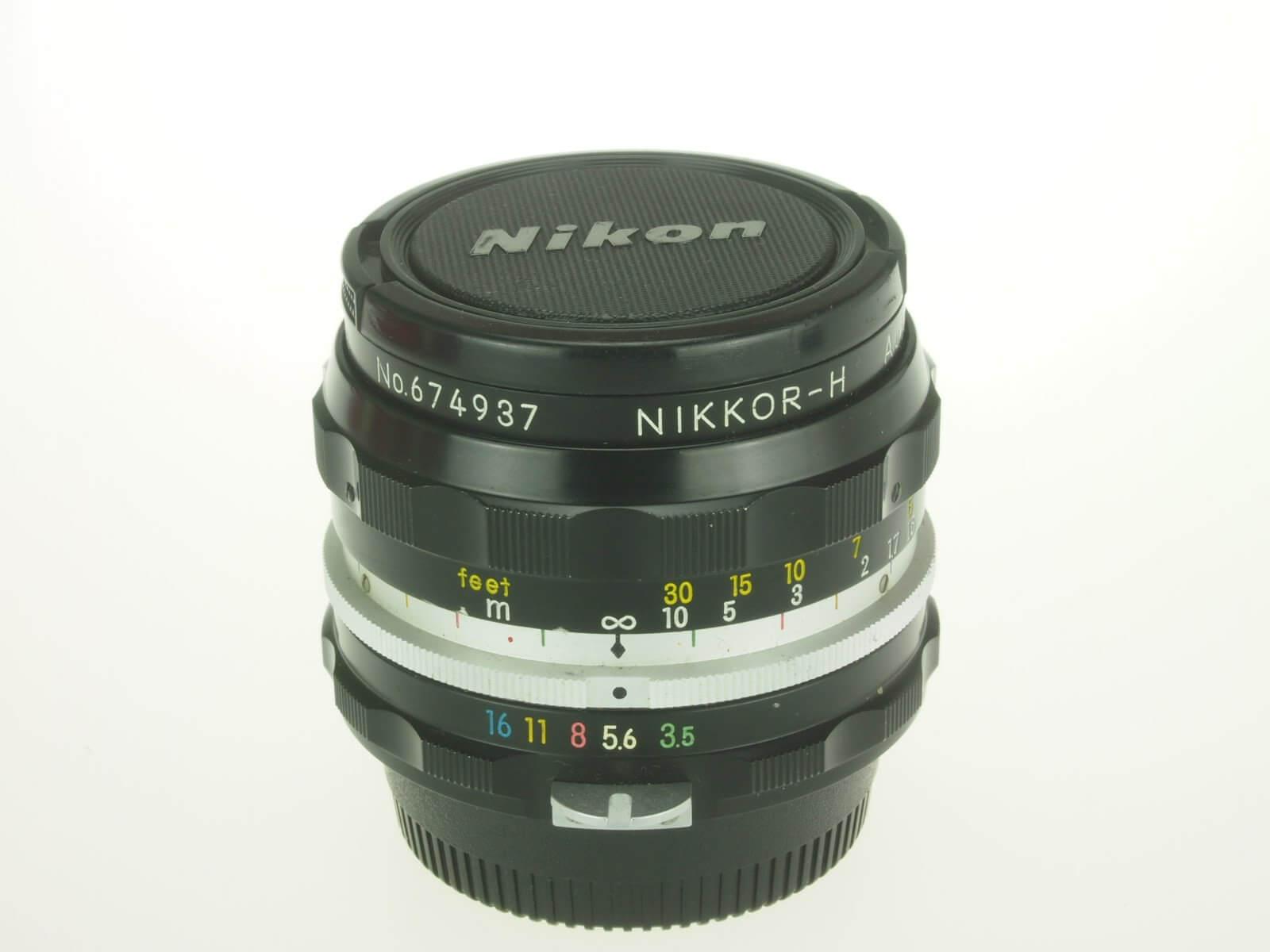 Nikon 28 f3.5 Nikkor, pre-AI lens, excellent user!