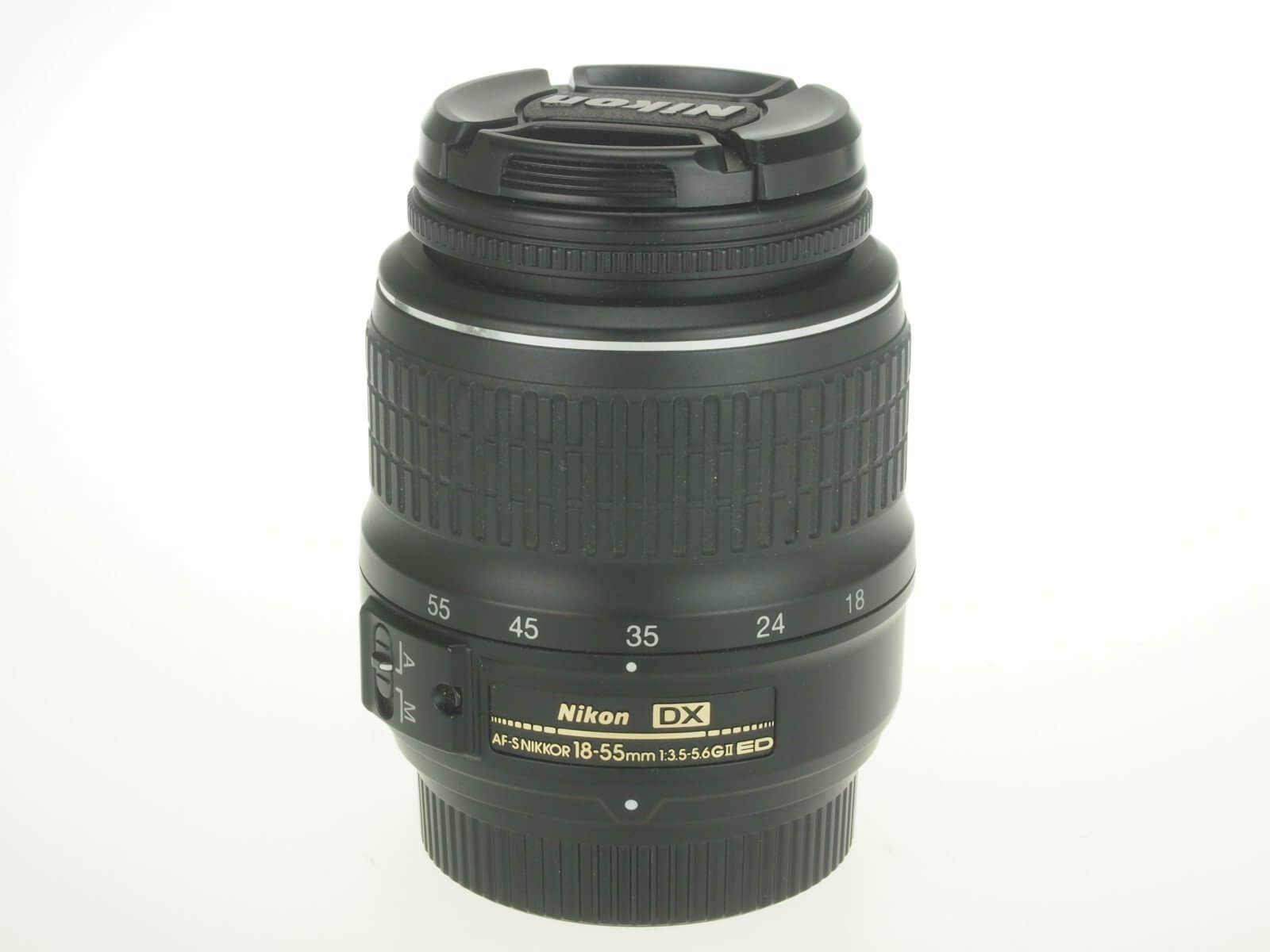 Nikon 18-55mm f3.5-5.6 AF-S Nikkor G II, Mint condition!
