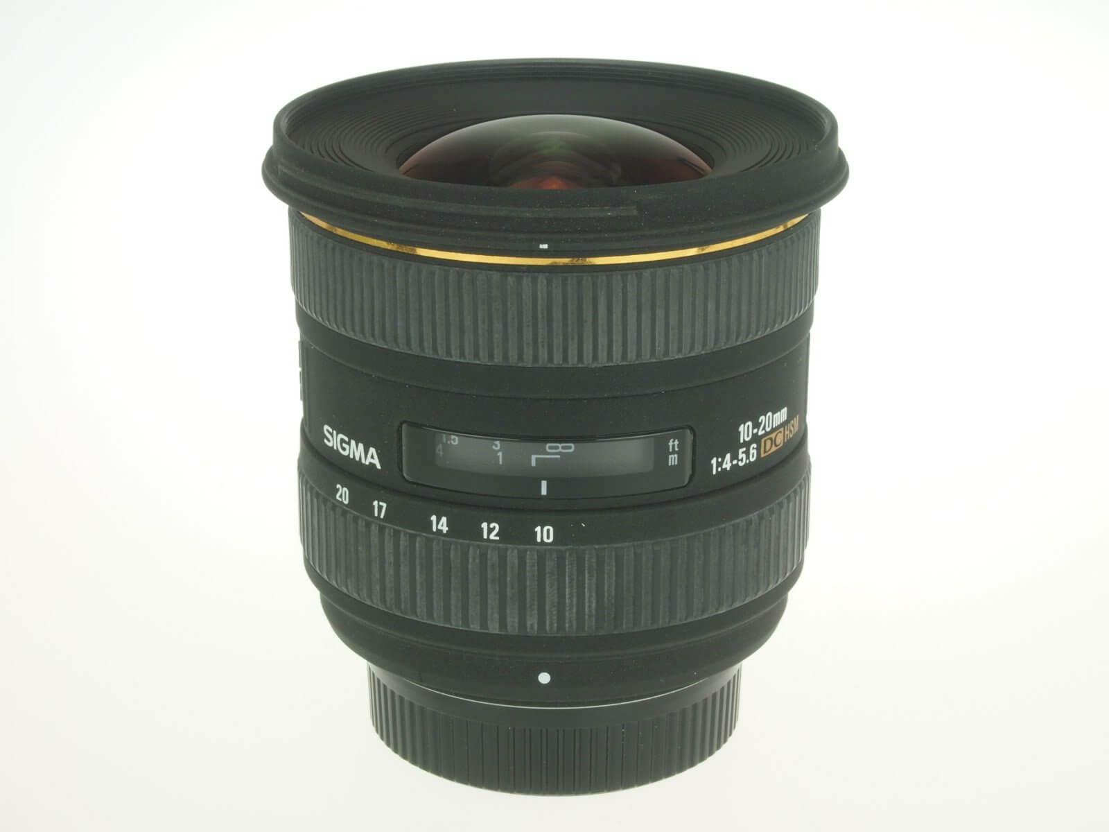 Sigma 10-20mm f4-5.6 DC HSM lens, Nikon mount, almost mint!