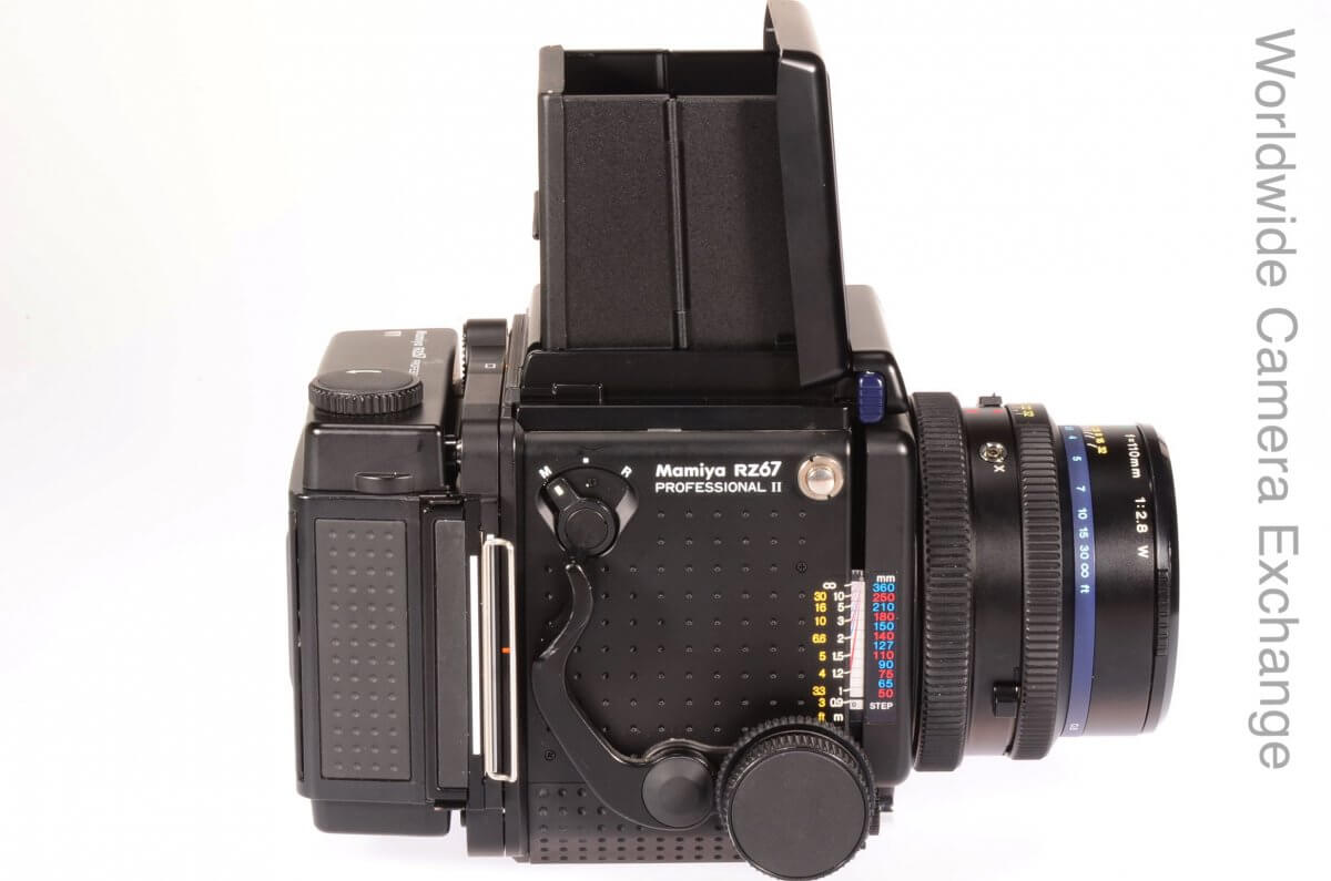 Mamiya RZ Pro II complete with 110mm lens and 120 back