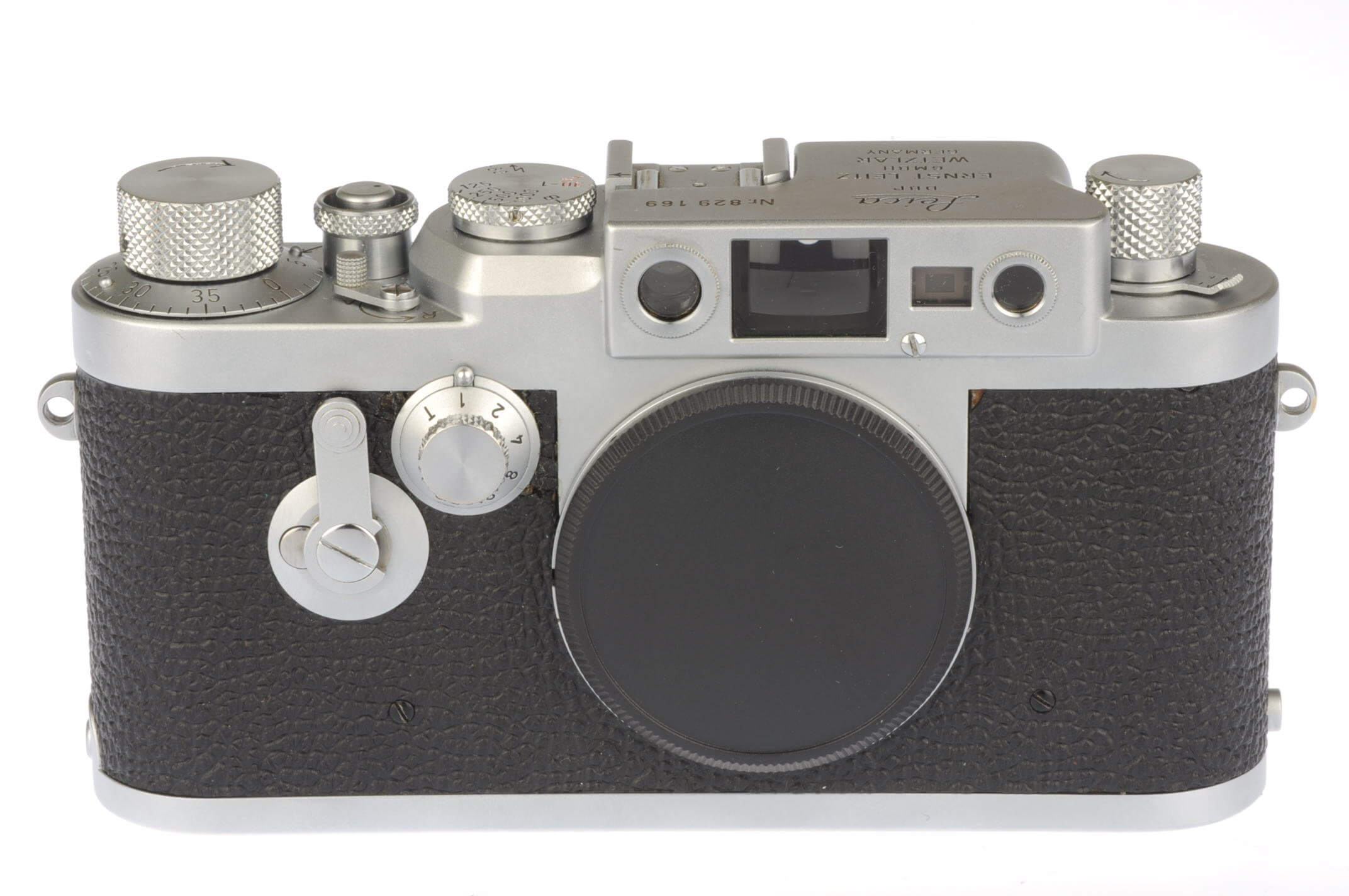 Leica IIIG body, exceptional condition, fully serviced!