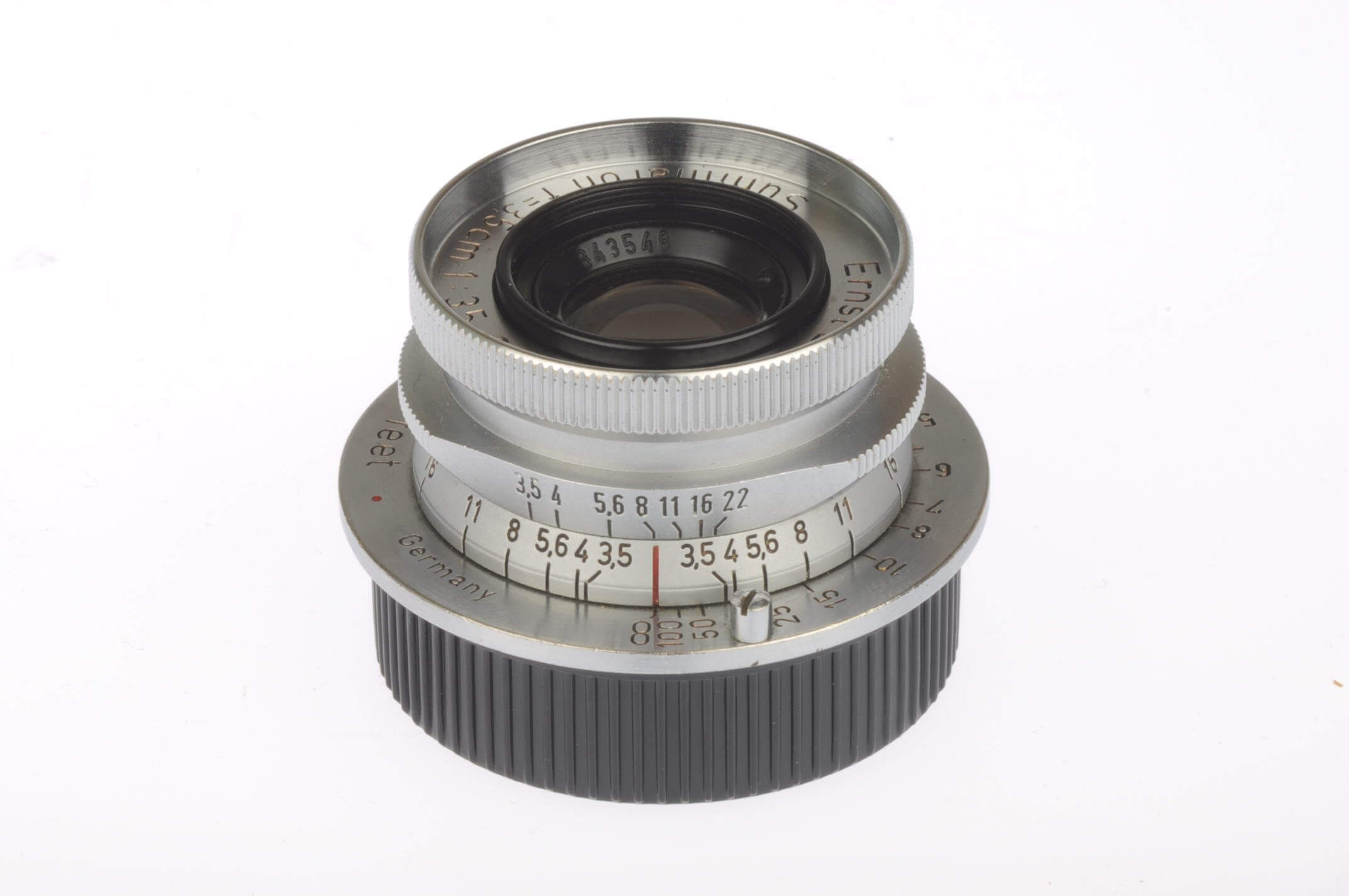 Leica 3.5cm f3.5 Summaron, screw, gorgeous condition!