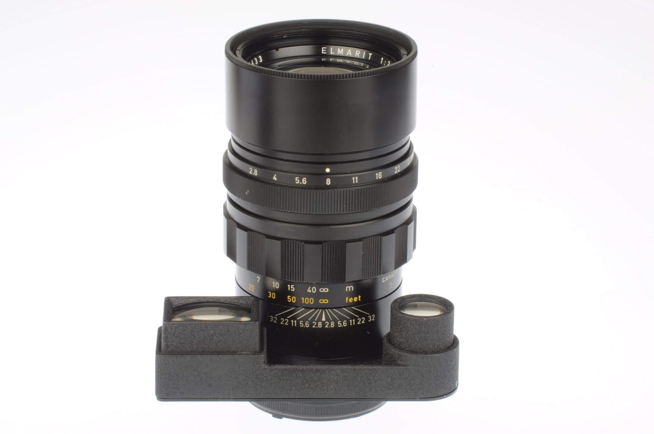 Leica 135mm f2.8 Elmarit M, 6-bit coded, almost mint