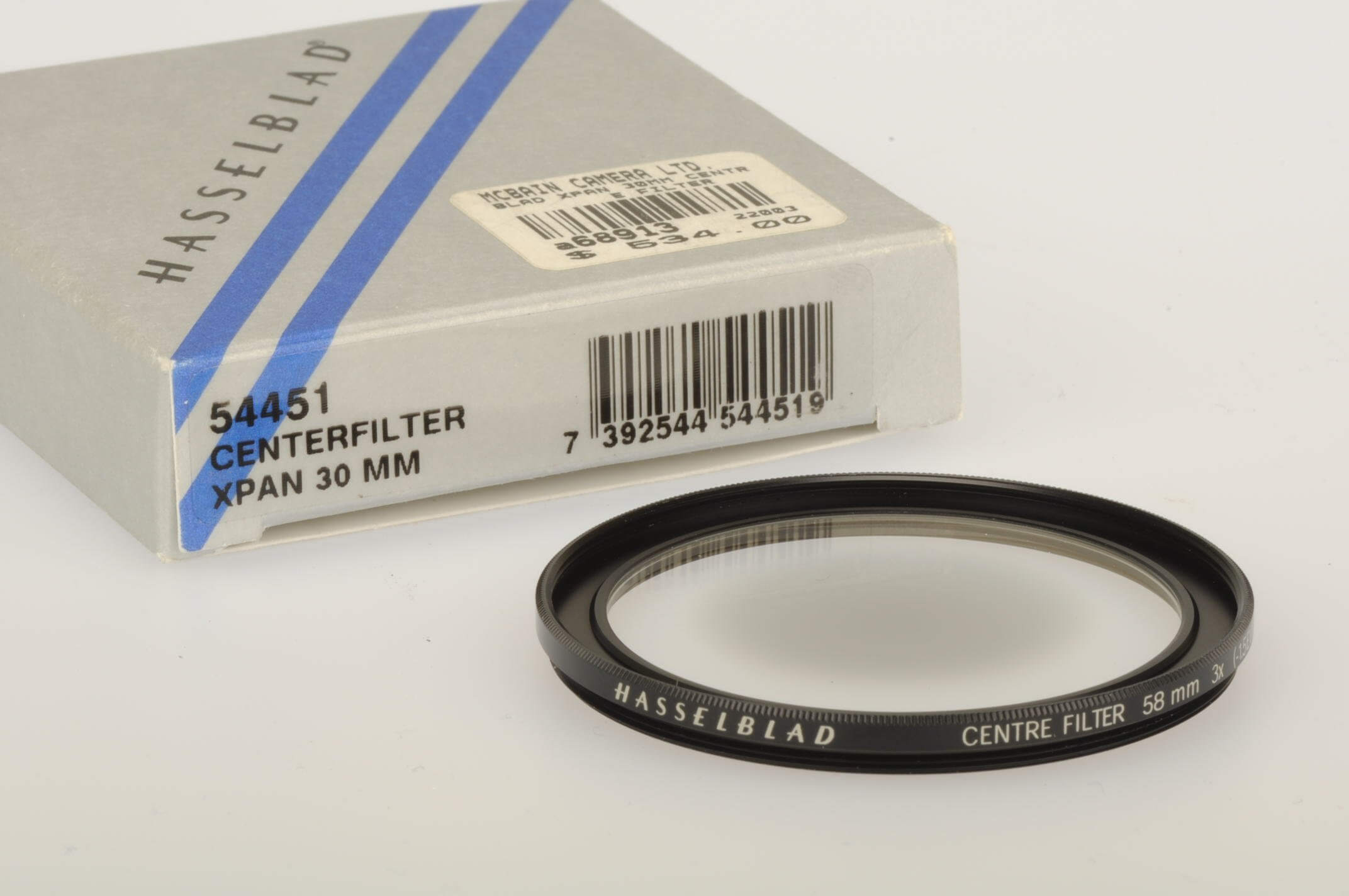 Hasselblad Xpan centre filter for 30mm lens, mint and boxed