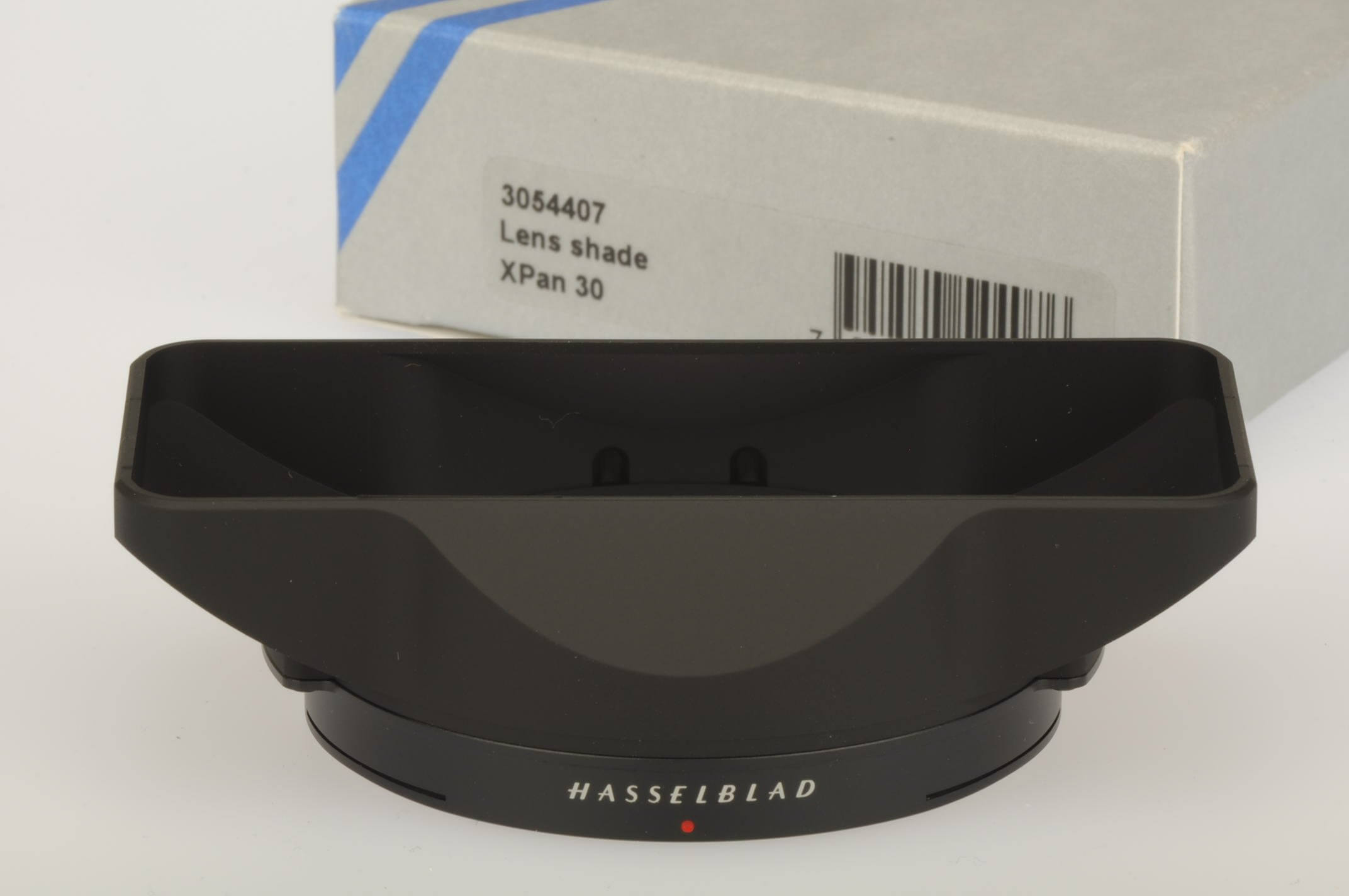 Hasselblad Xpan lens hood for 30mm lens, boxed and unused