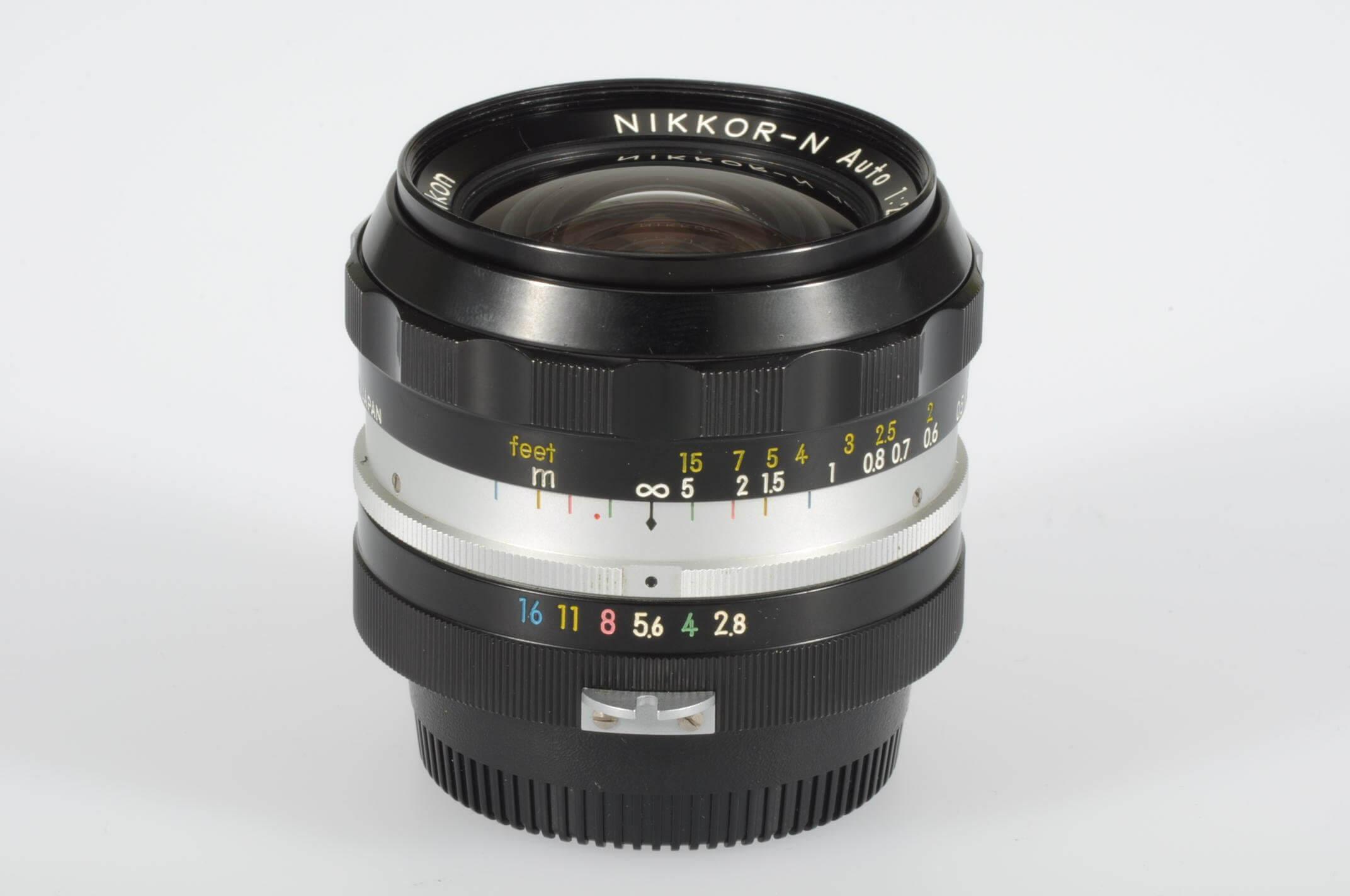 Nikon 24mm f2.8 Nikkor, pre-AI, serviced