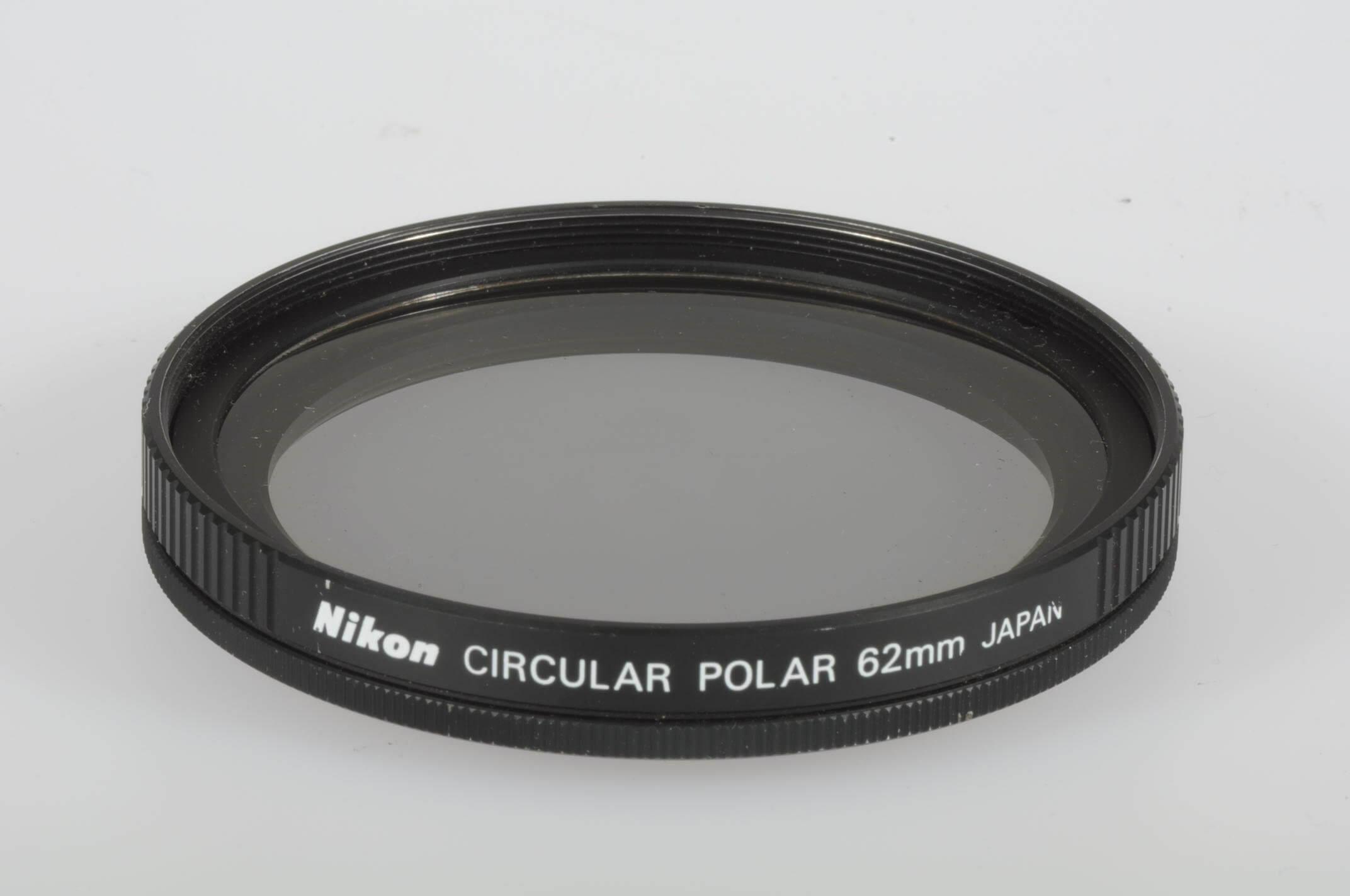 Nikon 62mm circular polarizing filter