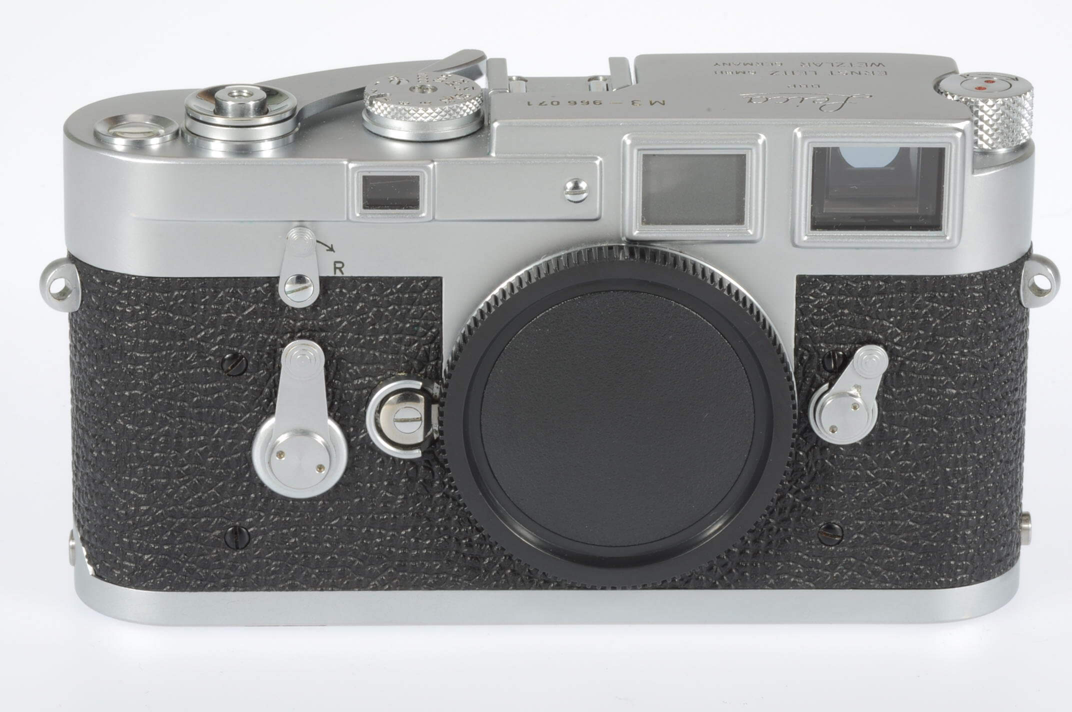Leica M3 body, single wind, serviced, almost mint!