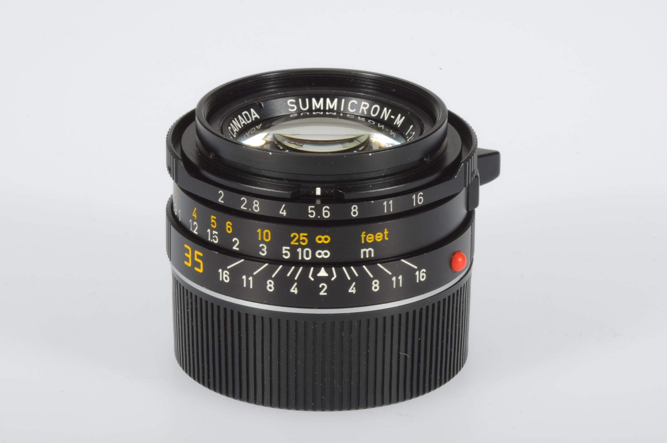 Leica 35mm f2 Summicron M, serviced