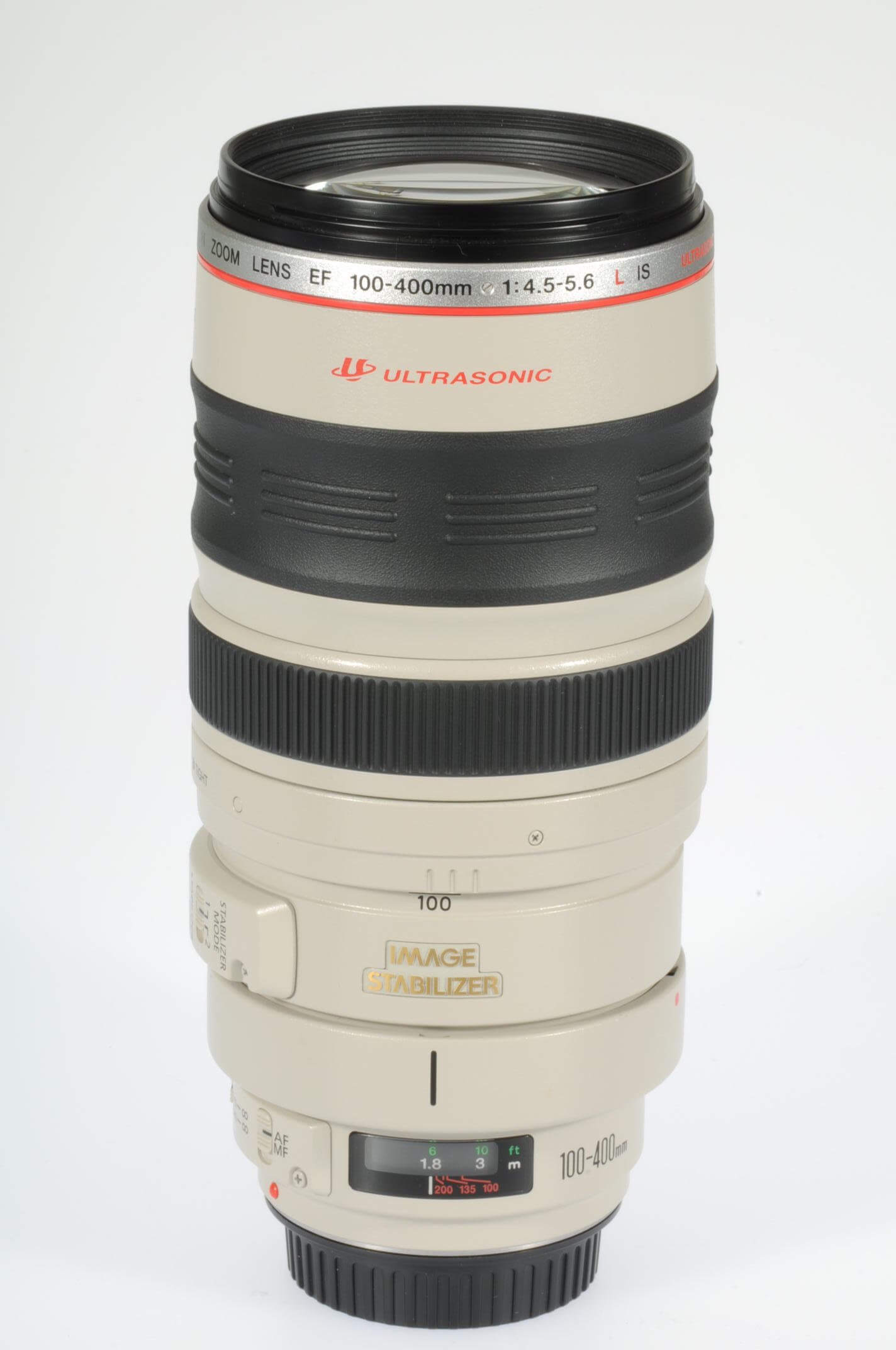 Canon 100-400mm f4.5-5.6 IS L, virtually mint!