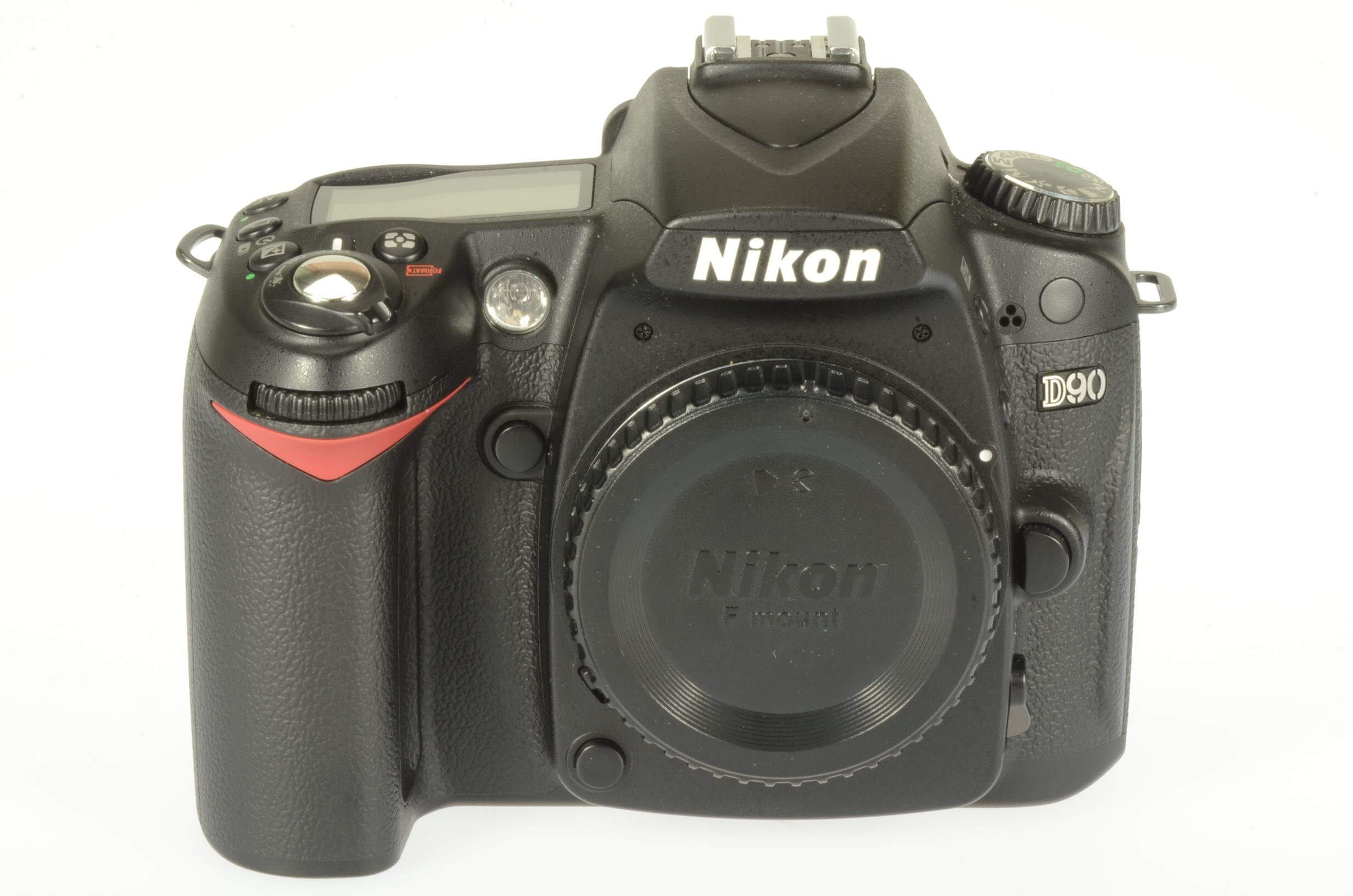 Nikon D90 body, 5594 actuations, excellent condition, almost mint