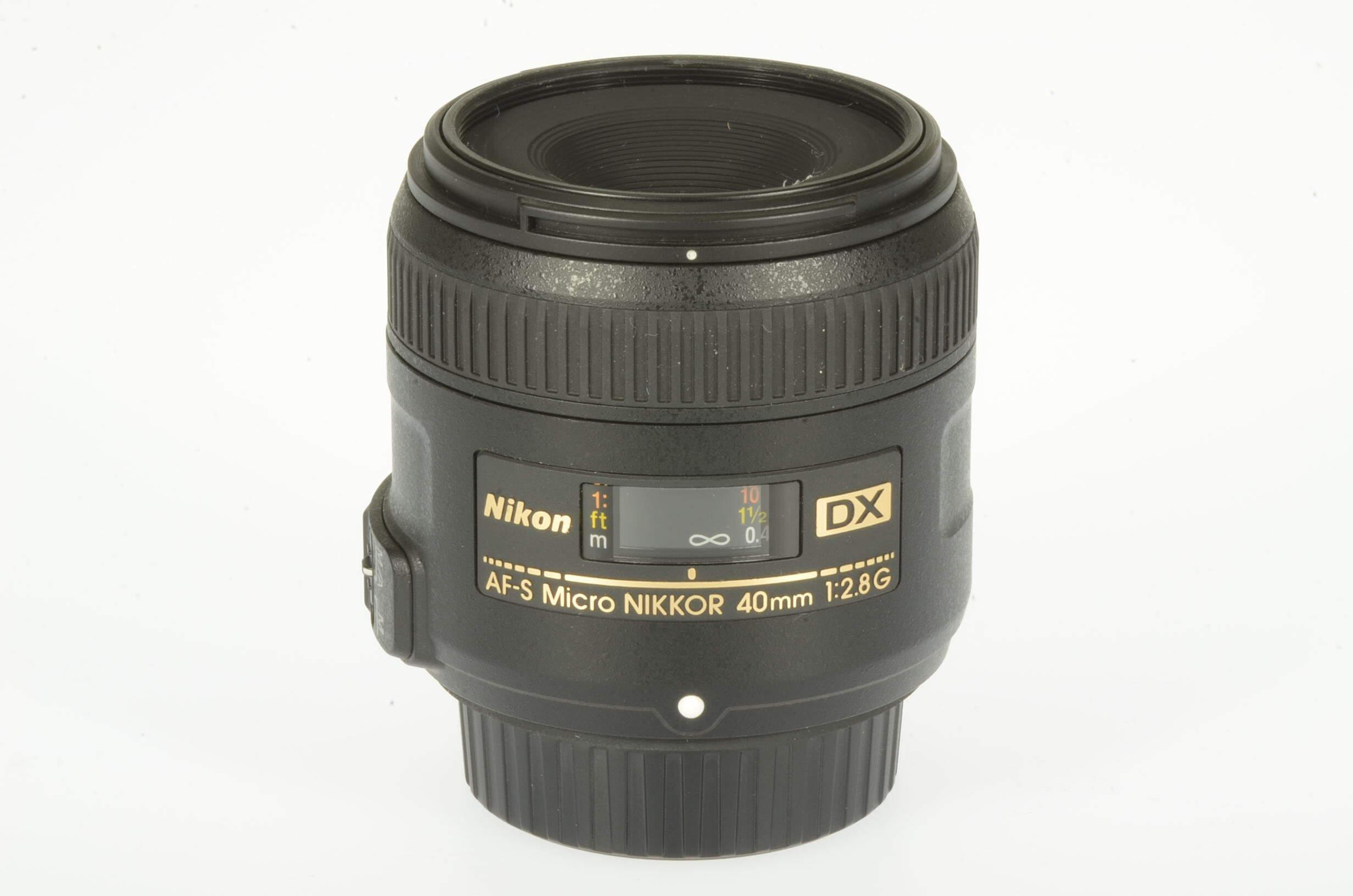 Nikon 40mm f2.8 AF-S Micro DX G, mint!