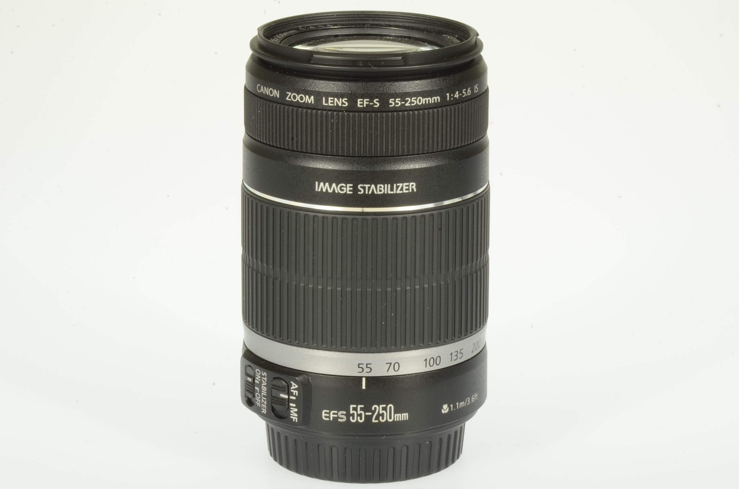 Canon 55-250mm f4-5.6 EF-S IS, mint!