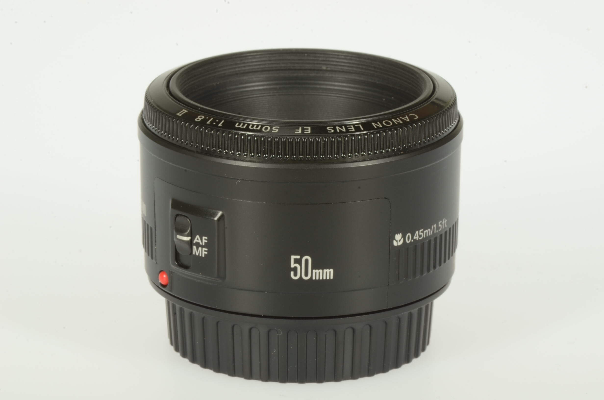 Canon 50mm f1.8 EF II, virtually mint!