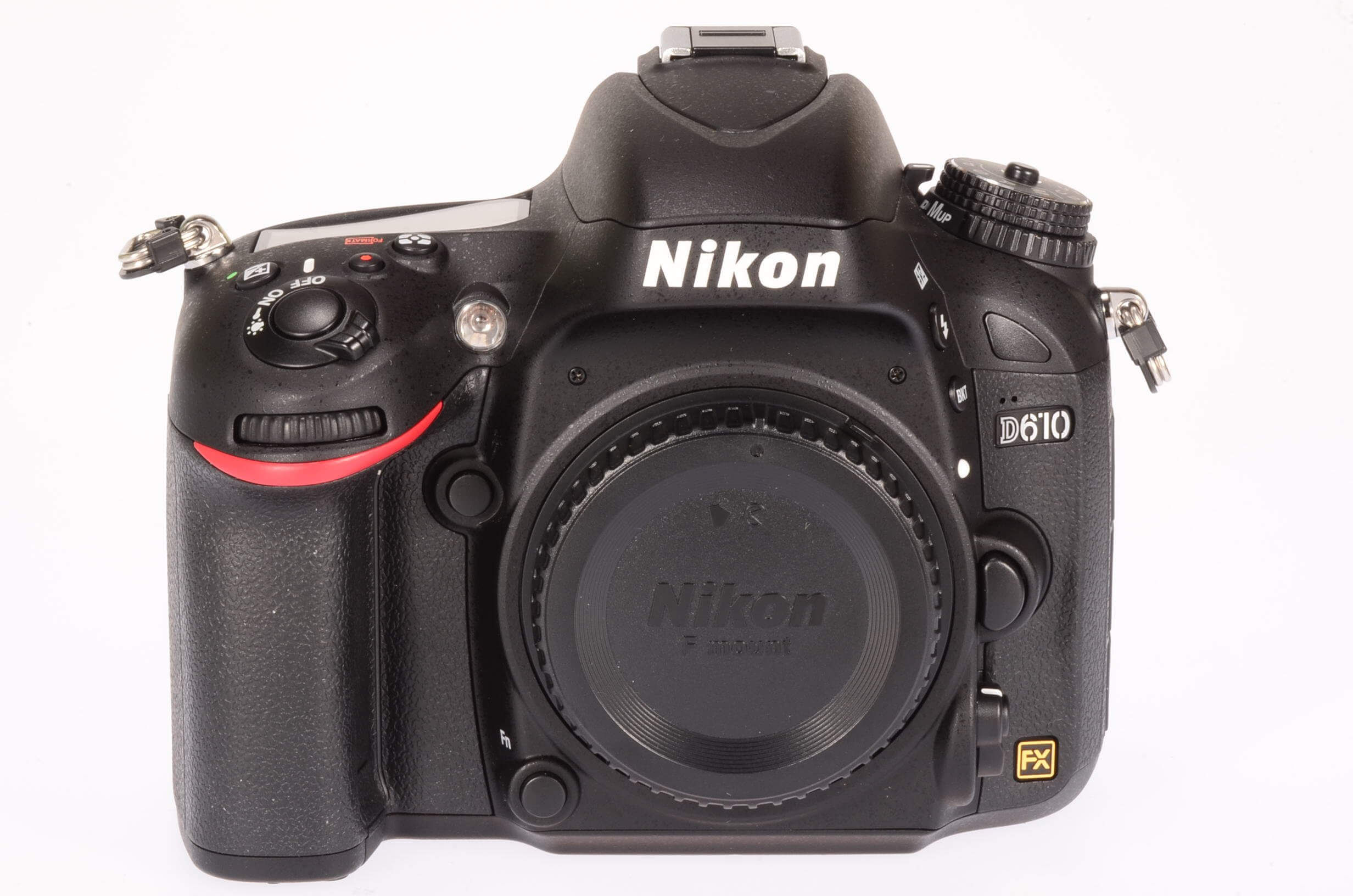 Nikon D610 body, mint and boxed, only 914 actuations!