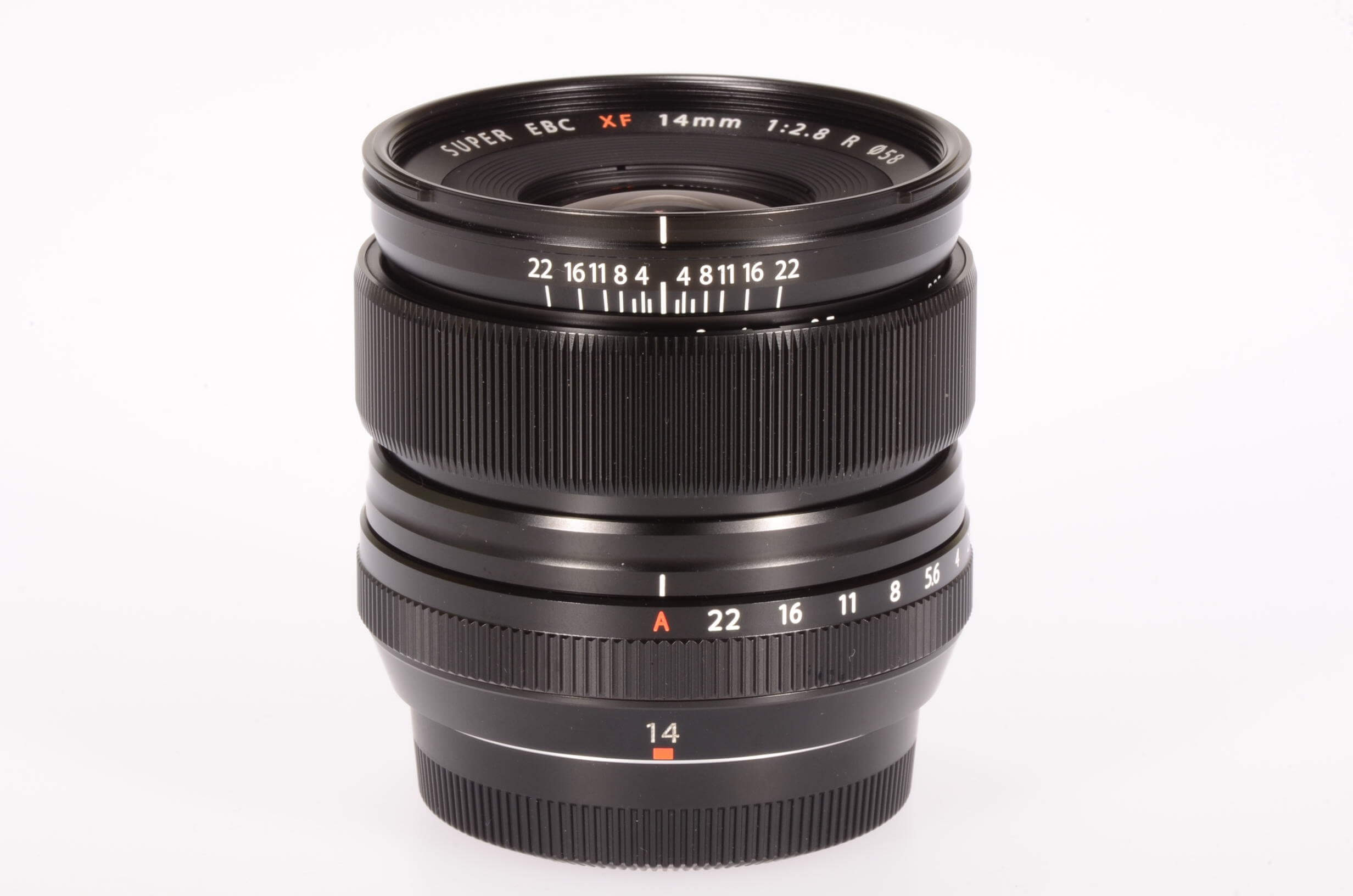Fuji 14mm f2.8 XF R lens, UK supplied, virtually unused!