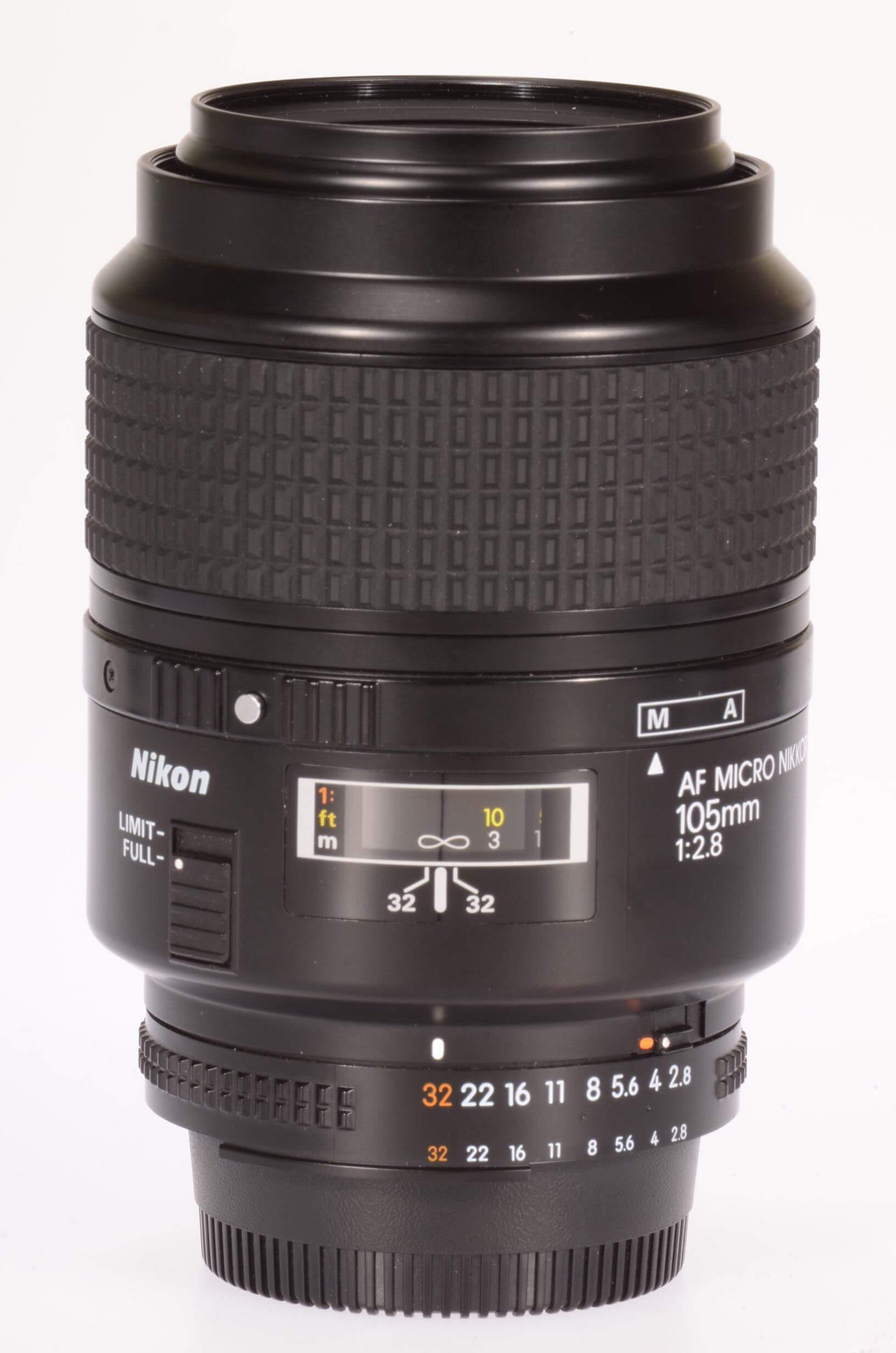 Nikon 105 f2.8 AF Micro Nikkor, low use