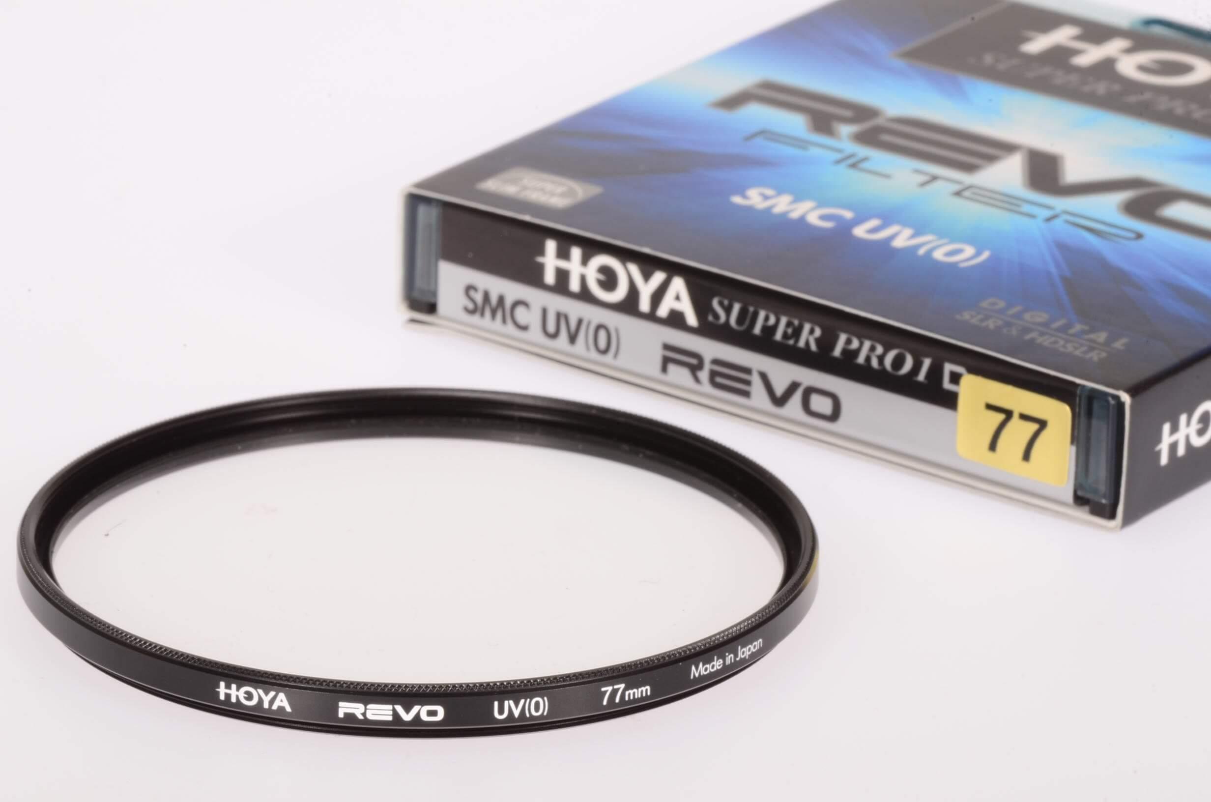 Hoya 77mm REVO SMC UV filter, mint and boxed!