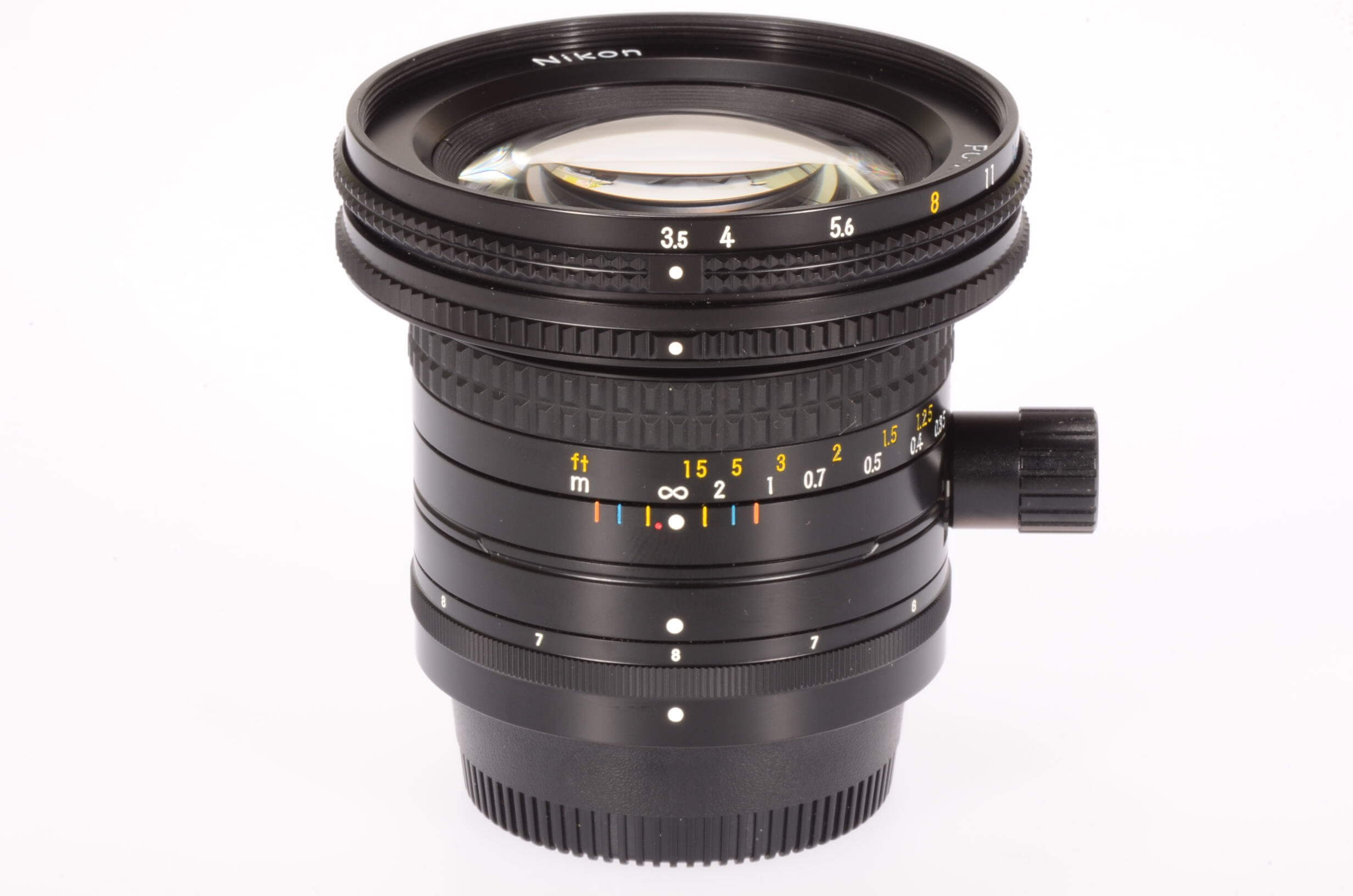 Nikon 28mm f3.5 PC Nikkor, gorgeous!