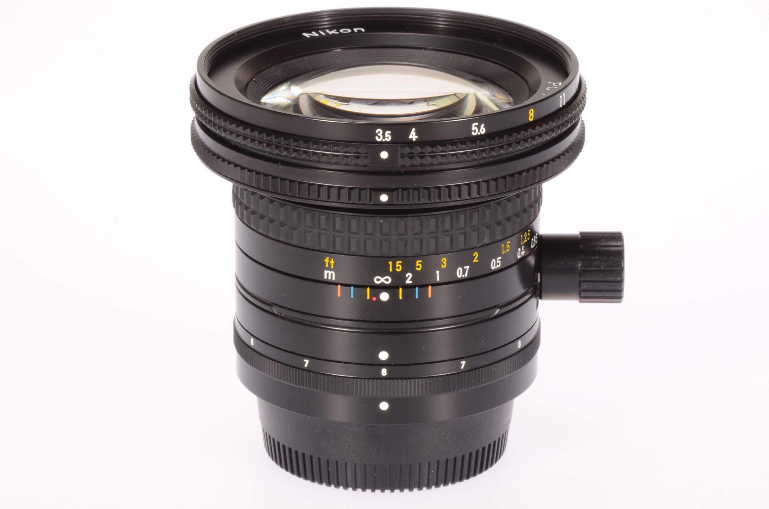 Nikon 28mm f3.5 PC Nikkor, gorgeous!