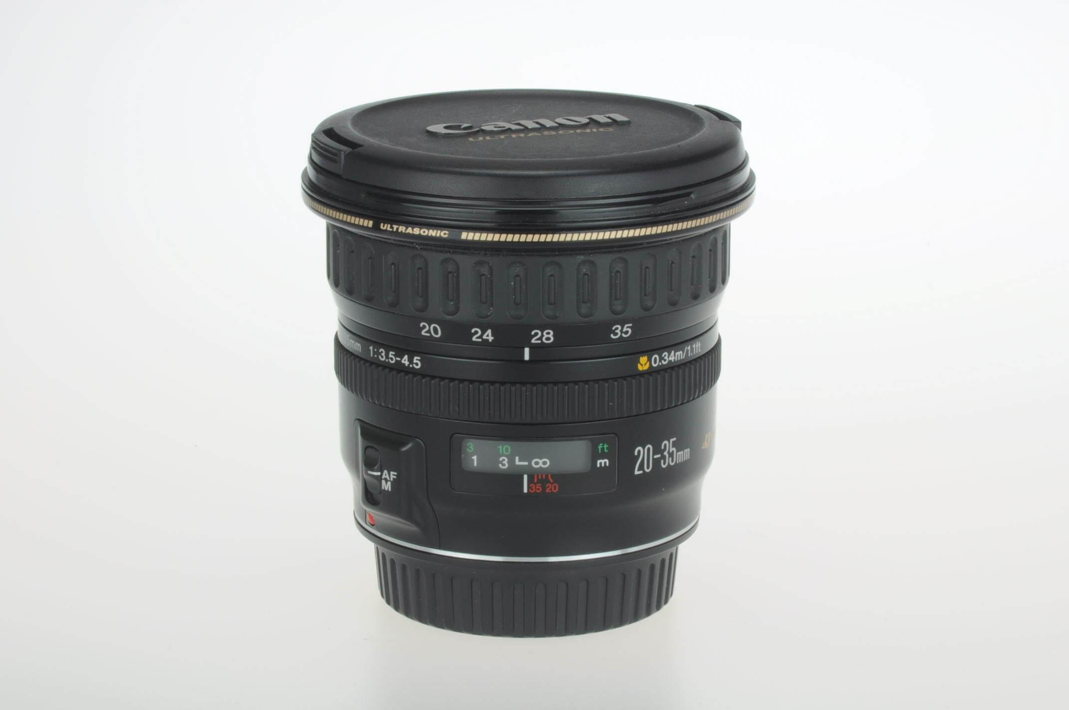 Canon 20-35mm f3.5-4.5 USM lens