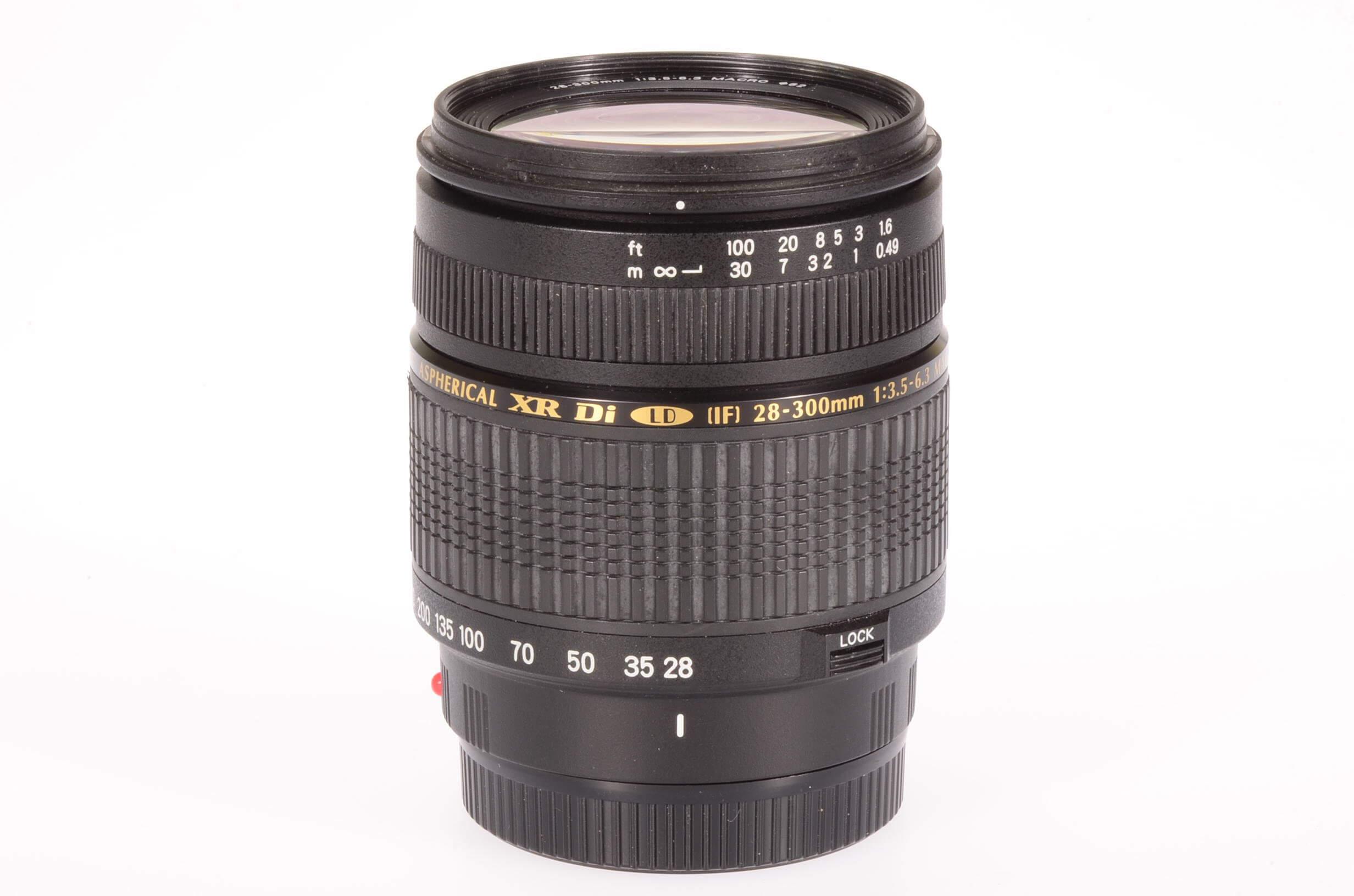 Tamron 28-300mm f3.5-6.3 XR Di LD lens, Sony/Minolta mount