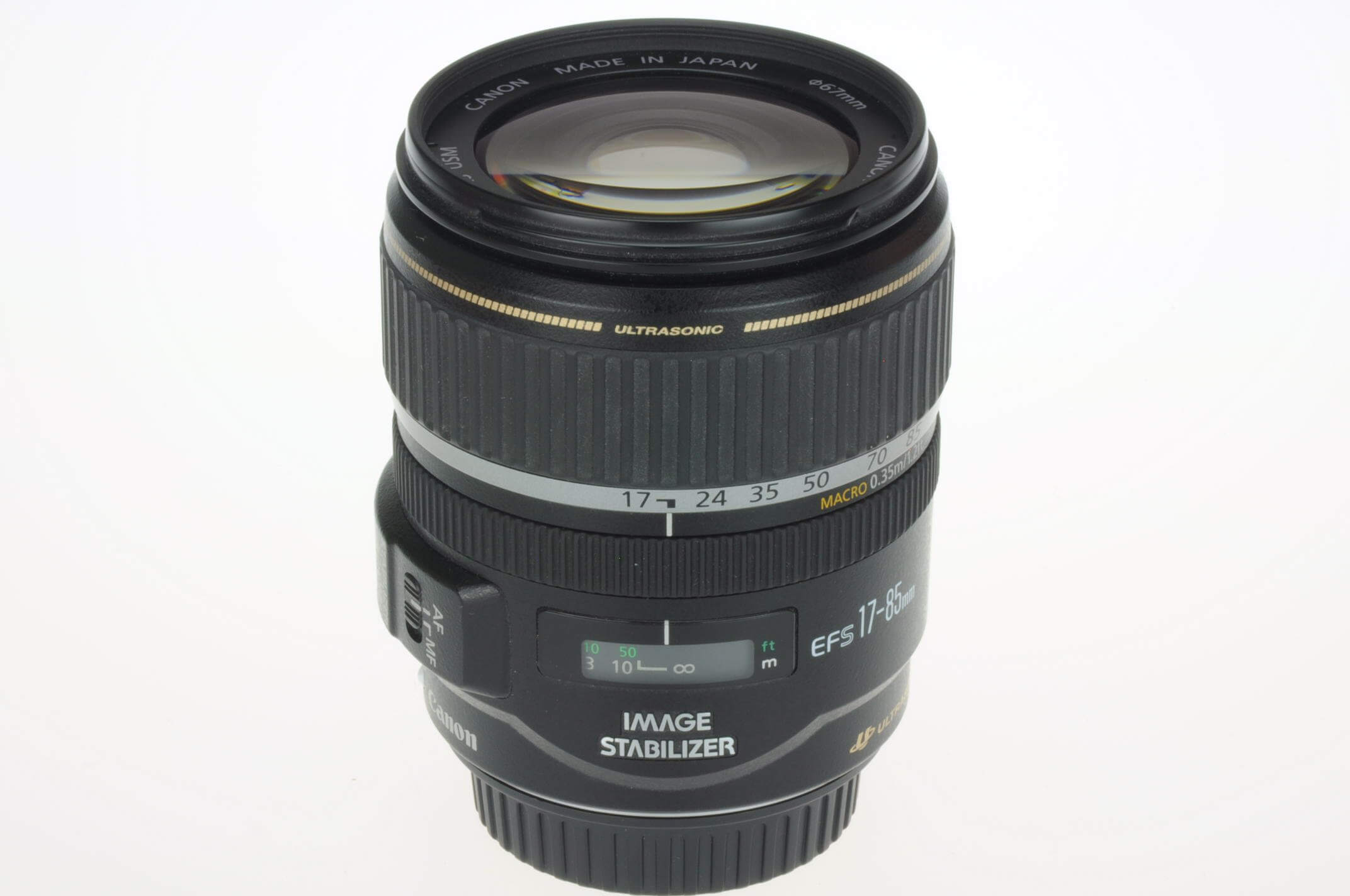 Canon 17-85 f4-5.6 EF-S IS USM lens, Mint condition!