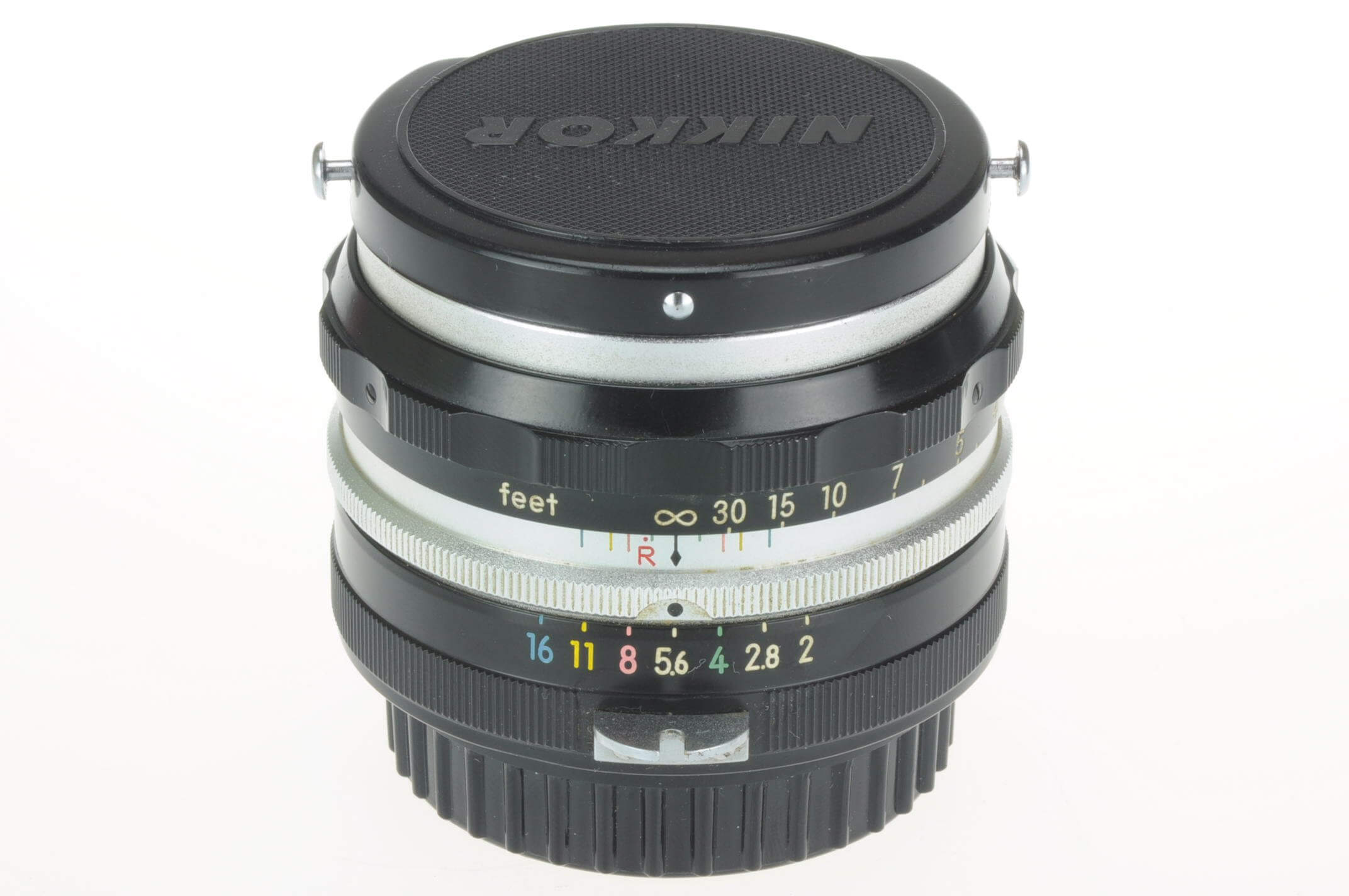 Nikon 5cm f2 'tick mark' Nikkor, very early and very rare! Gorgeous condition!