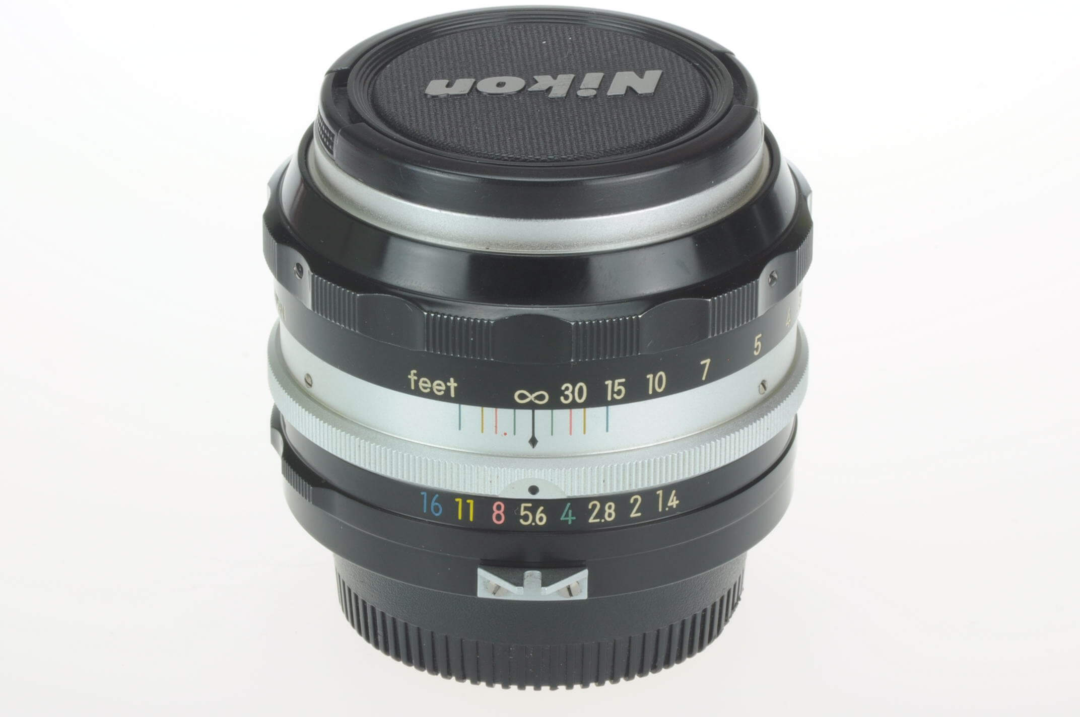 Nikon 50mm f1.4 Nikkor pre-AI lens, gorgeous condition!