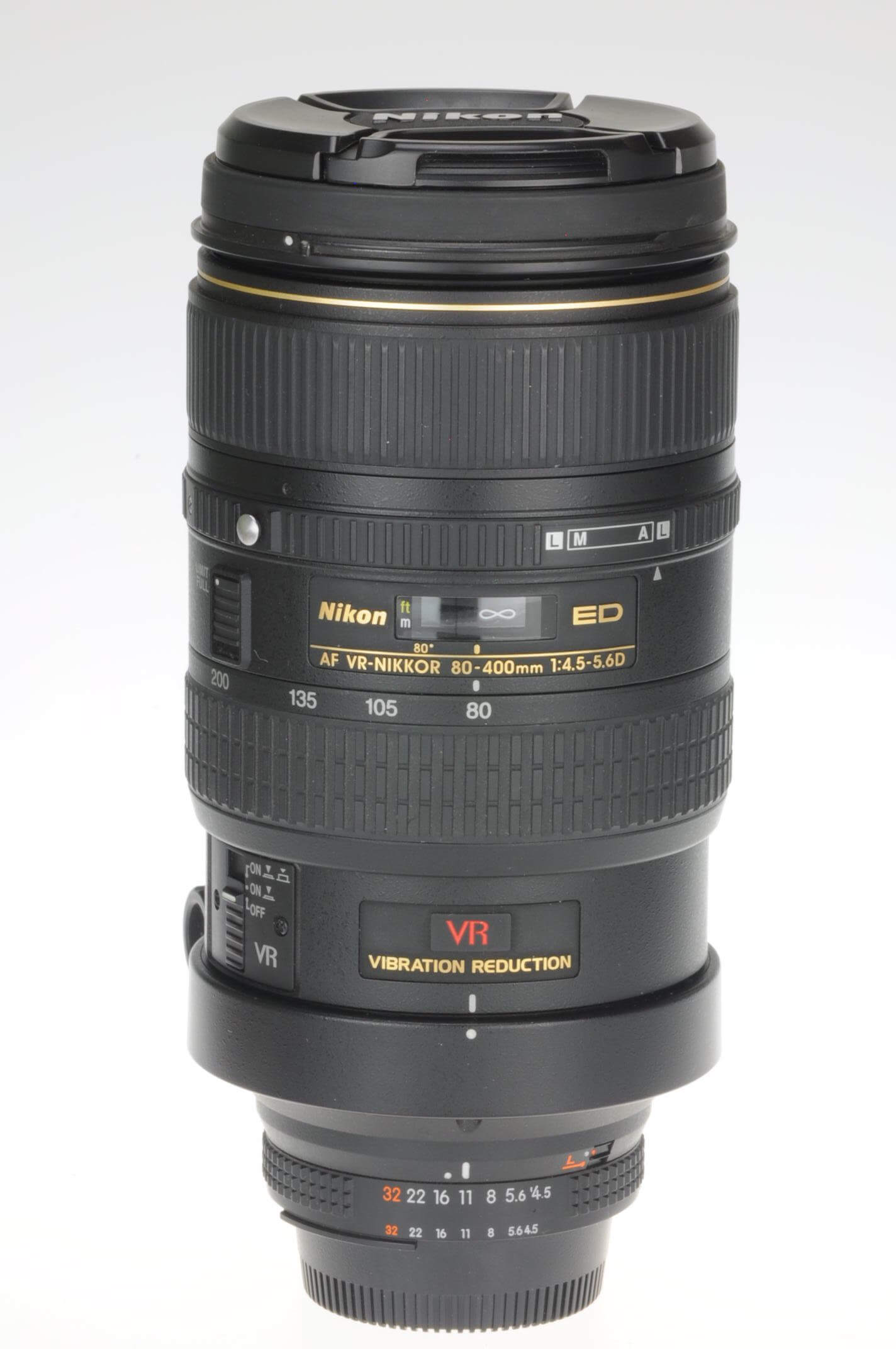 Nikon 80-400mm f4.5-5.6 AF D VR, boxed, stunning condition!
