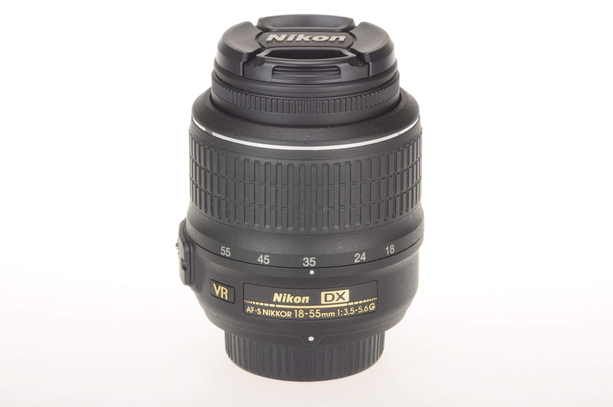 Nikon 18-55mm f3.5-5.6 AF-S VR lens, mint condition!