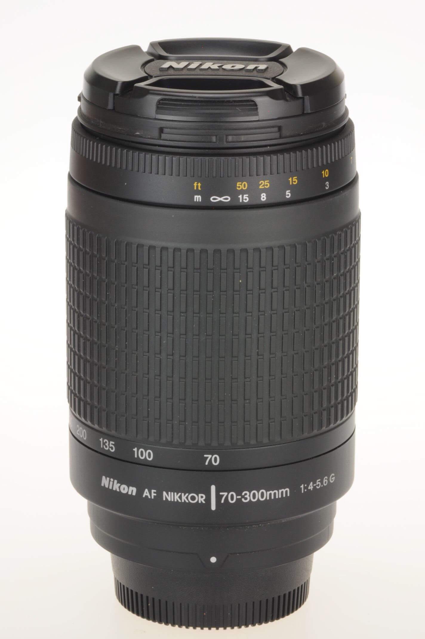 Nikon 70-300mm f4-5.6 AF G, mint condition!