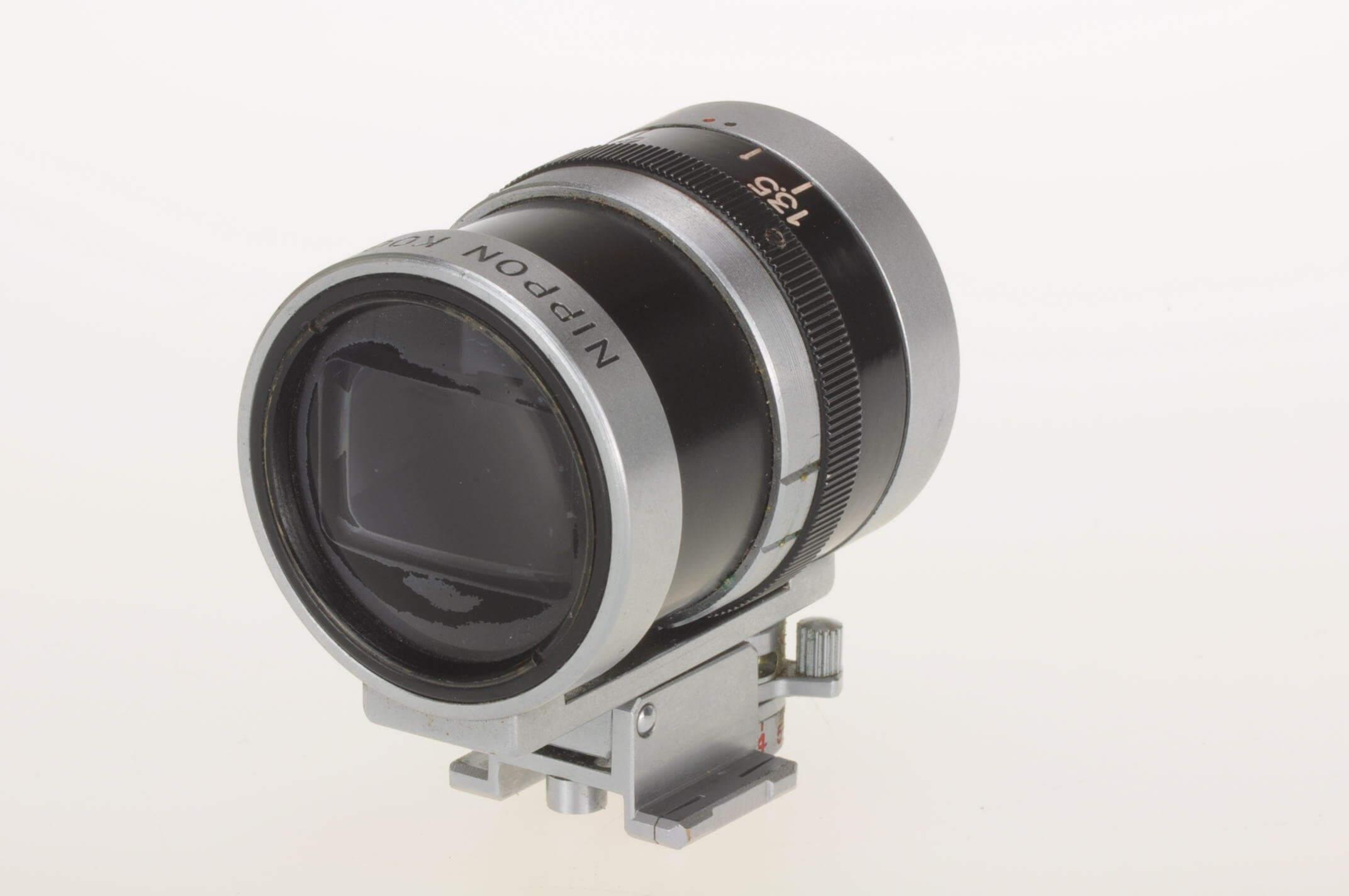 Nikon 35mm-135mm vario finder, excellent condition, for Nikon rangefinder