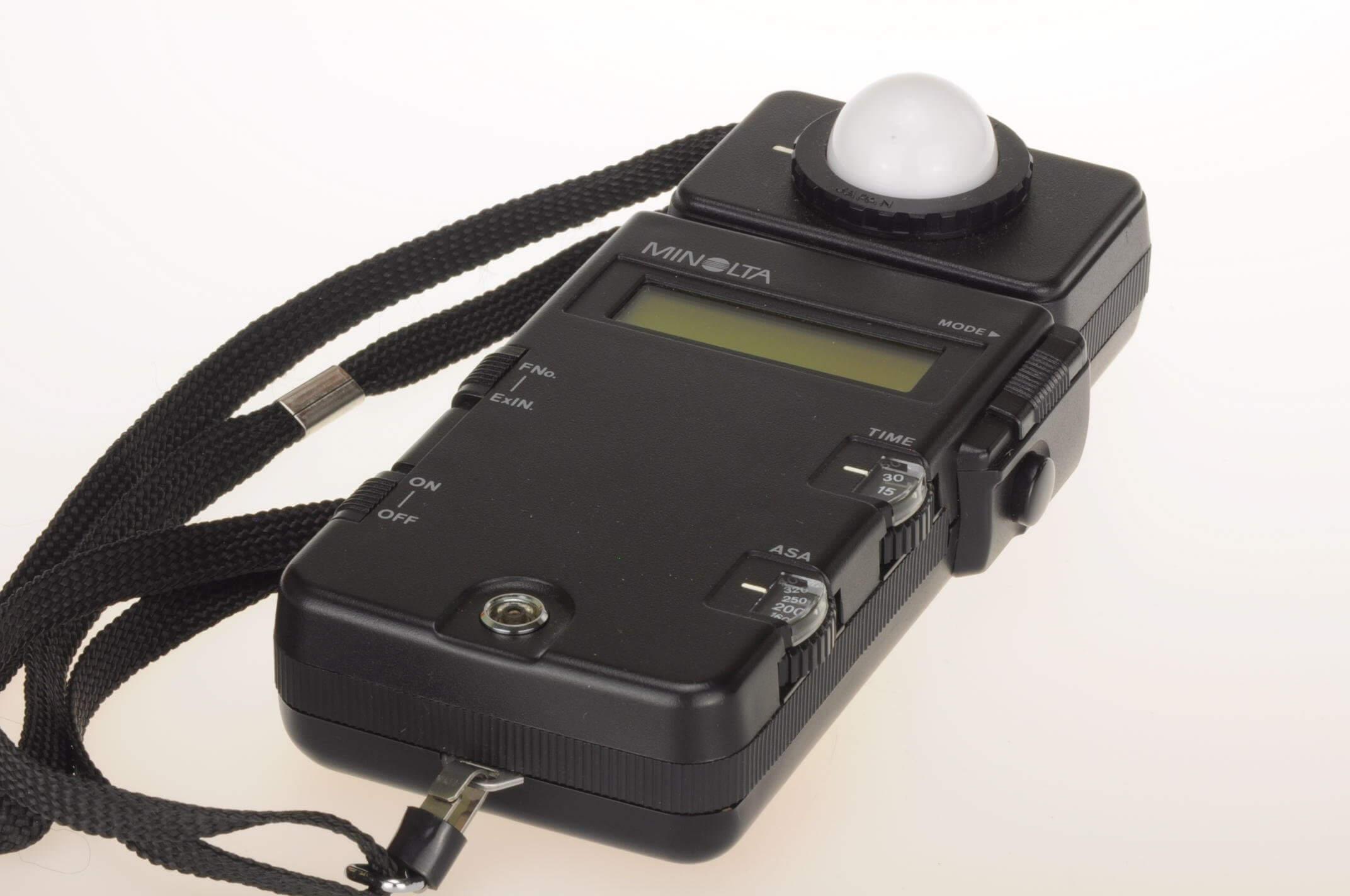 Minolta Flashmeter III, with case