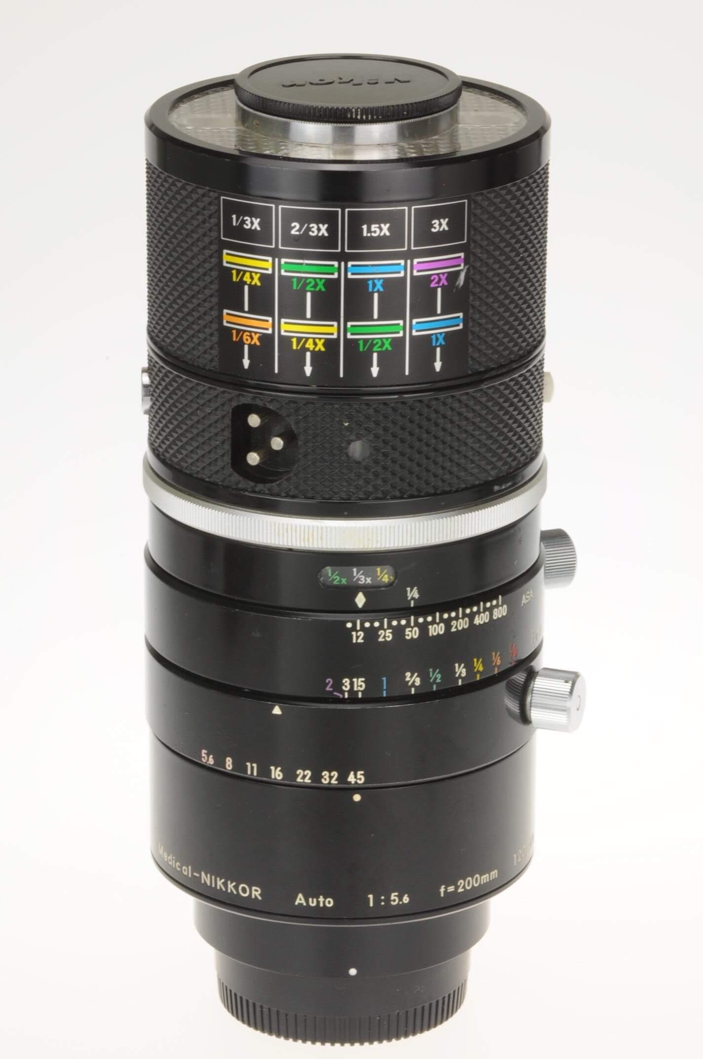 Nikon 200mm f5.6 Medical-Nikkor, rare!