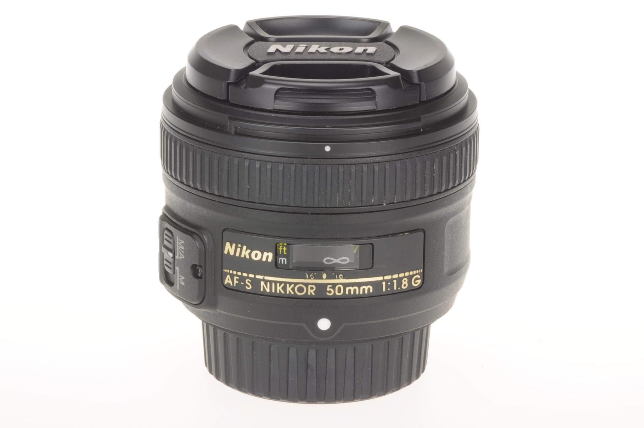 Nikon 50mm 1.8 Nikkor AF-S G, virtually Mint!