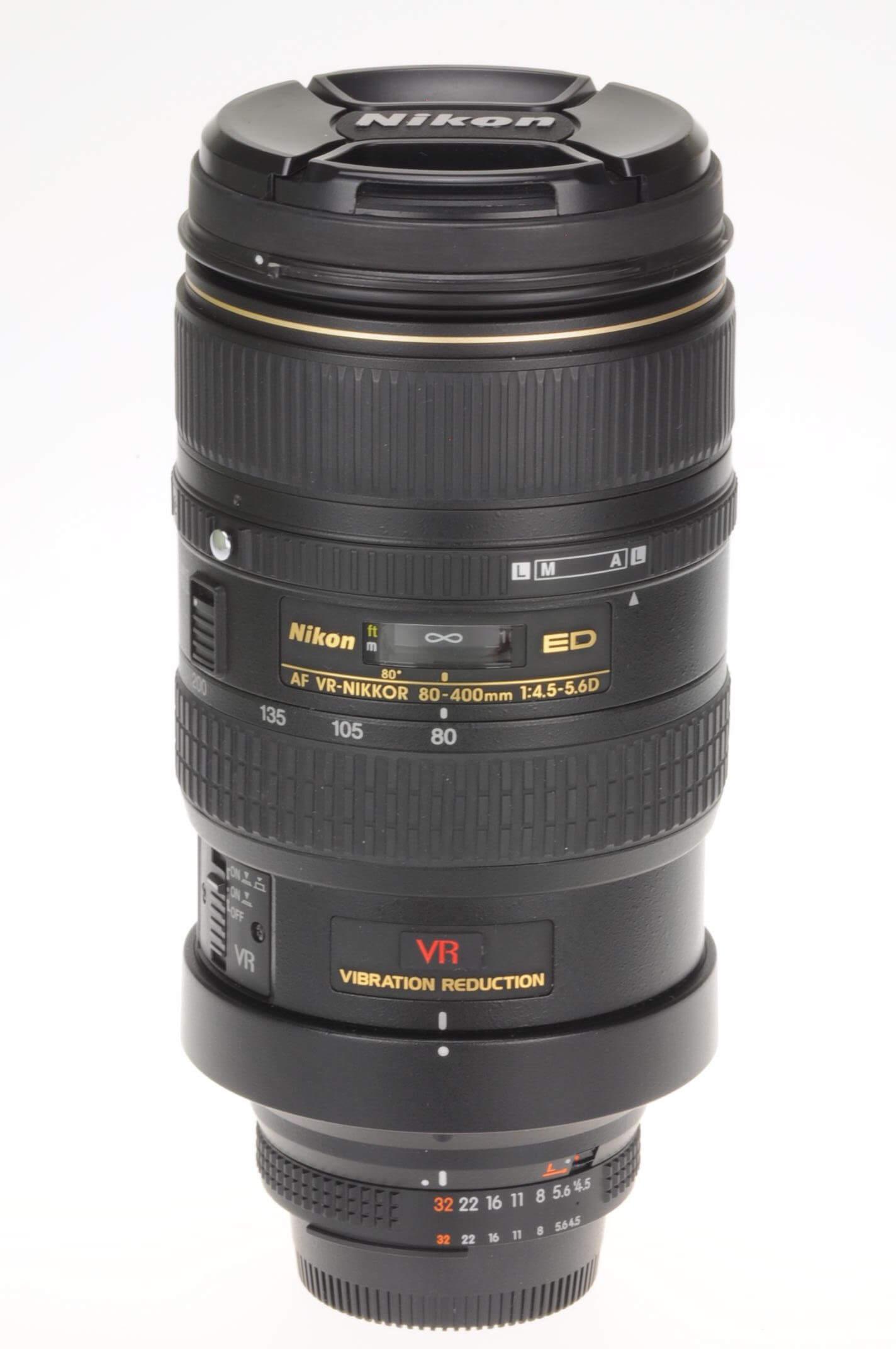 Nikon 80-400mm f4.5-5.6 Nikkor AF VR, excellent condition, boxed