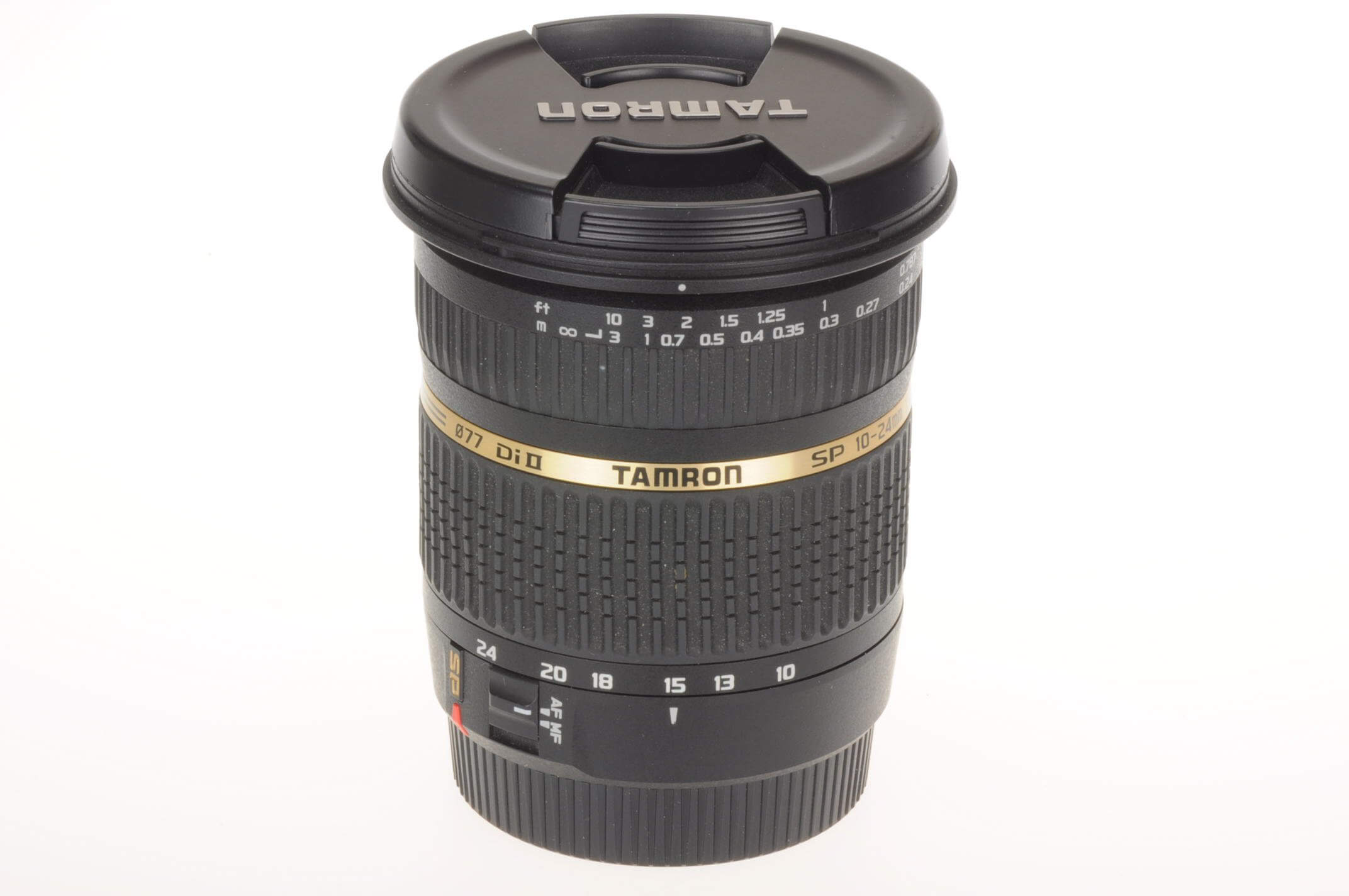 Tamron 10-24mm f3.5-4.5 Di II lens, Canon mount, Mint condition!