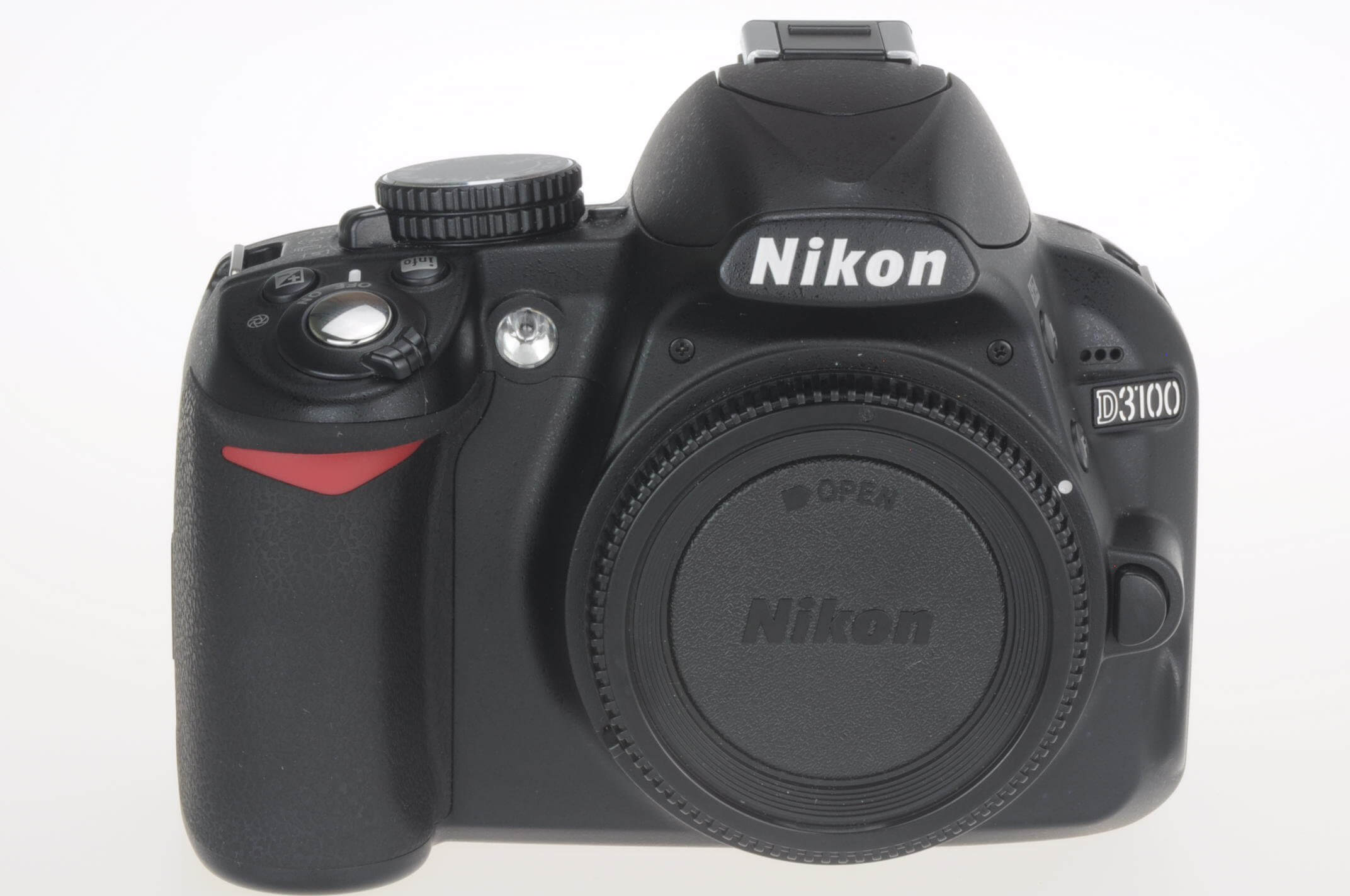 Nikon D3100 digital body, only 2369 actuations!